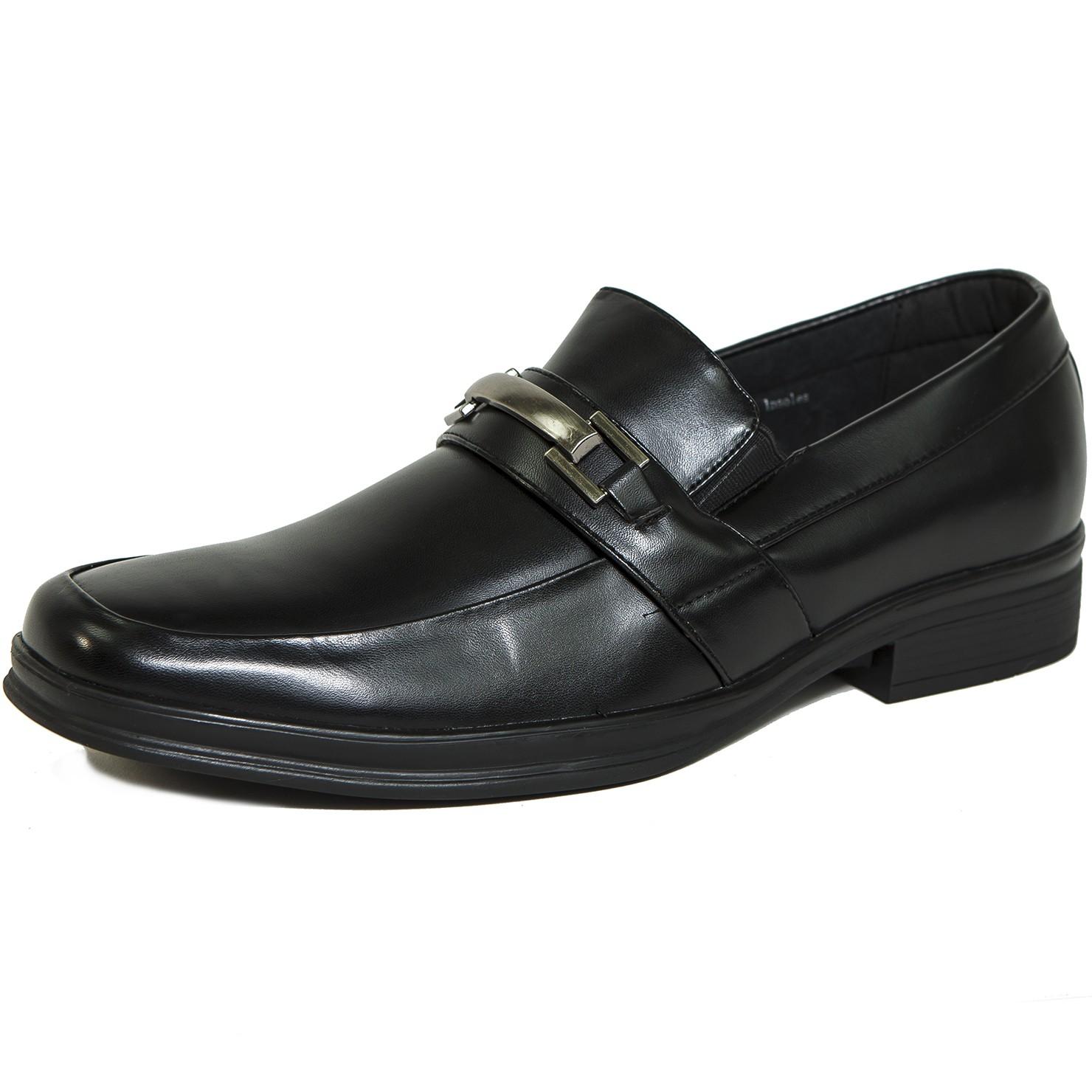 Mens Suede Buckle Shoes