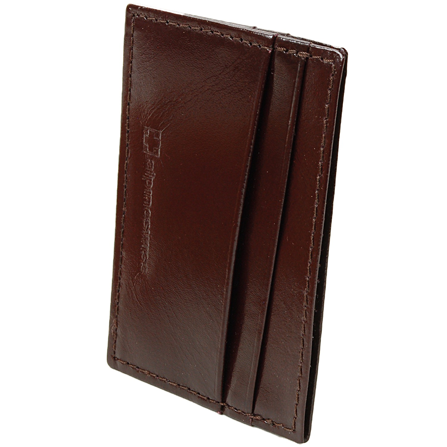 Alpine-Swiss-Super-Slim-Card-Case-Genuine-Leather-ID-Holder-Front-Pocket-Wallet thumbnail 44