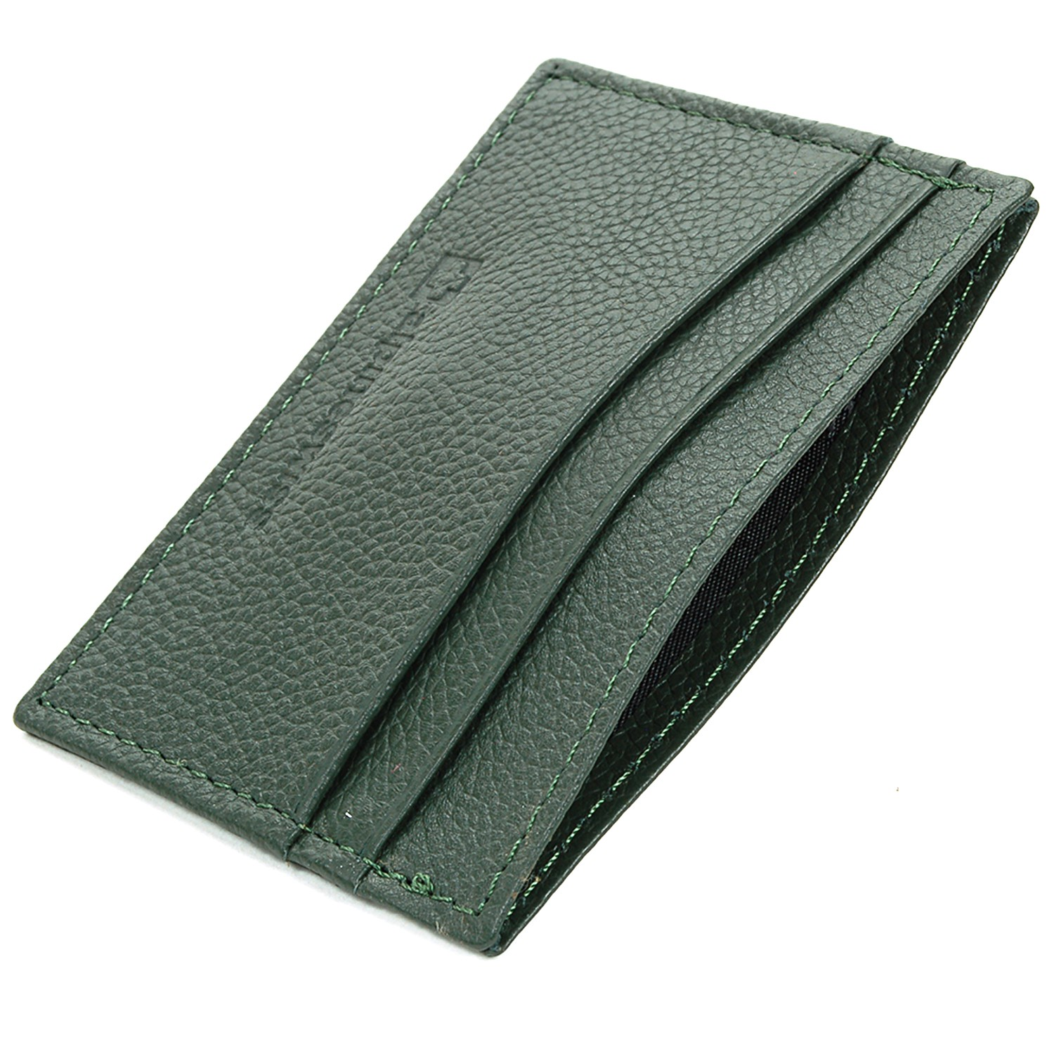 Alpine-Swiss-Super-Slim-Card-Case-Genuine-Leather-ID-Holder-Front-Pocket-Wallet thumbnail 61