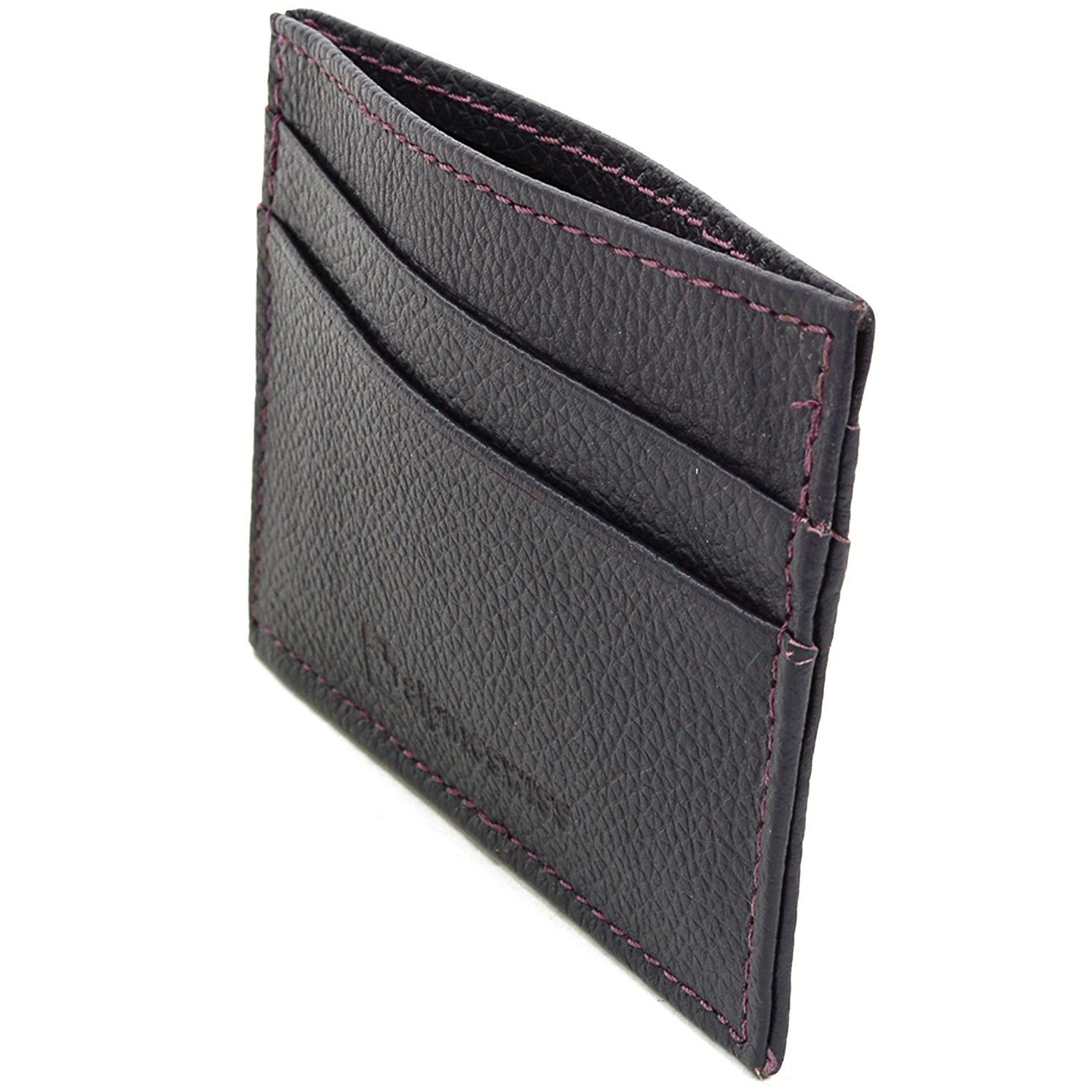 Alpine-Swiss-Super-Slim-Card-Case-Genuine-Leather-ID-Holder-Front-Pocket-Wallet thumbnail 66