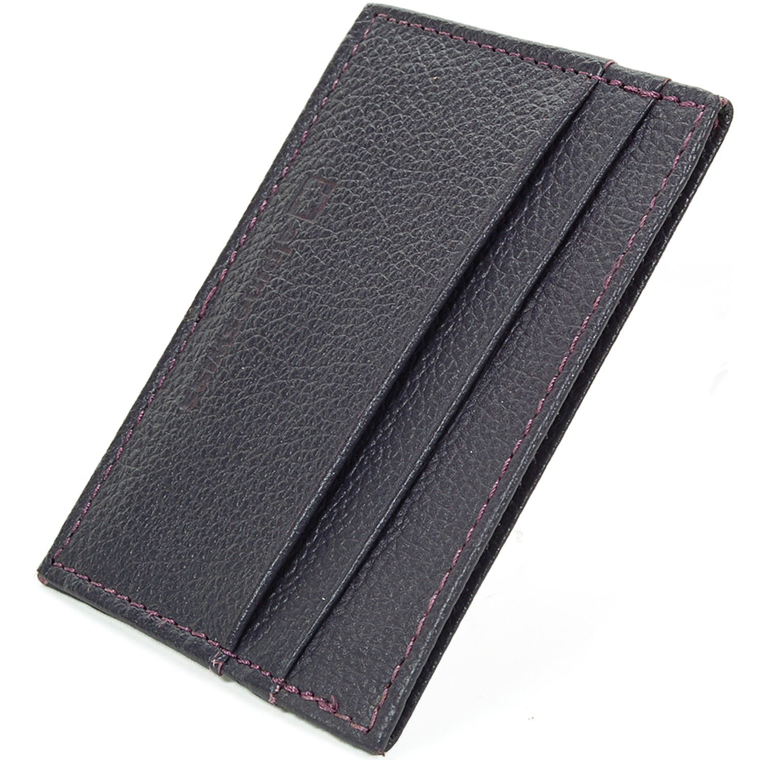 Alpine-Swiss-Super-Slim-Card-Case-Genuine-Leather-ID-Holder-Front-Pocket-Wallet thumbnail 67