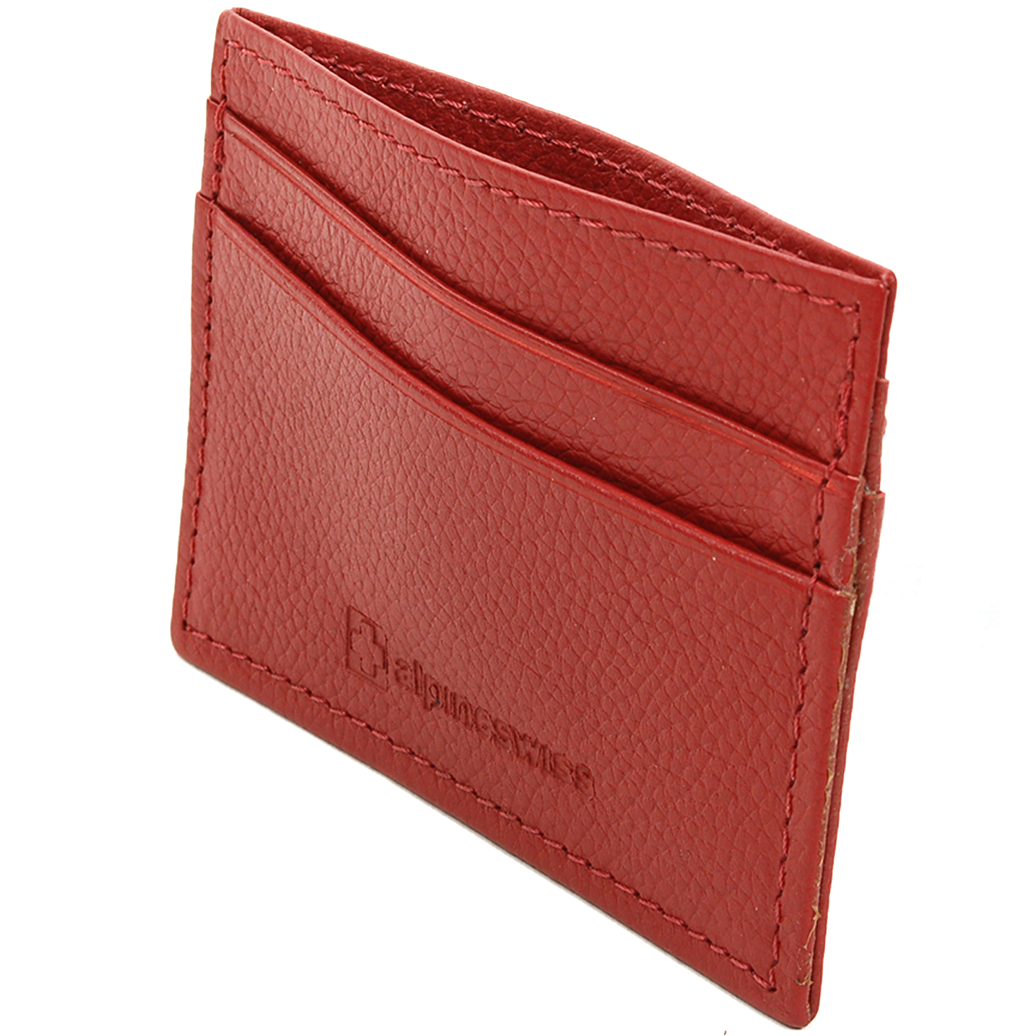 Alpine-Swiss-Super-Slim-Card-Case-Genuine-Leather-ID-Holder-Front-Pocket-Wallet thumbnail 72