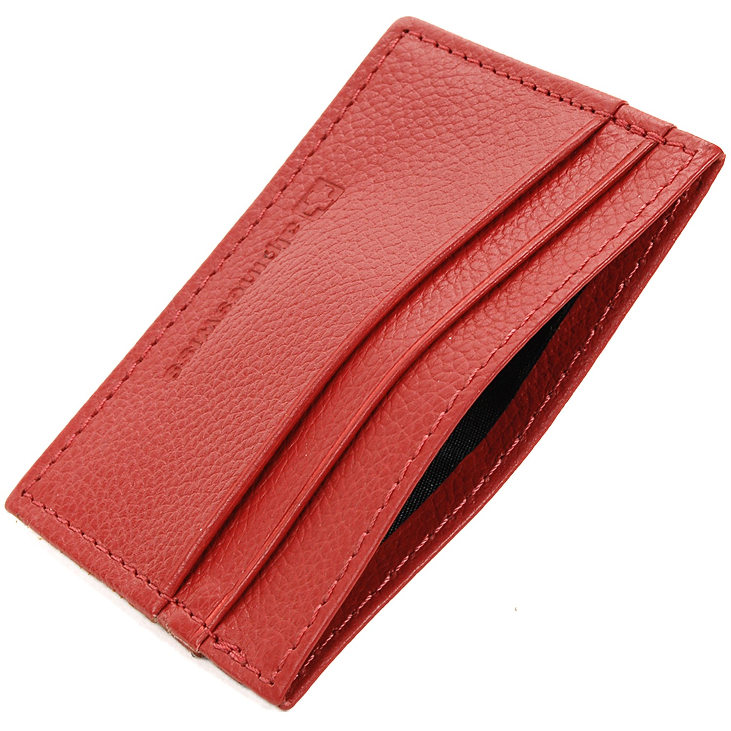 Alpine-Swiss-Super-Slim-Card-Case-Genuine-Leather-ID-Holder-Front-Pocket-Wallet thumbnail 75