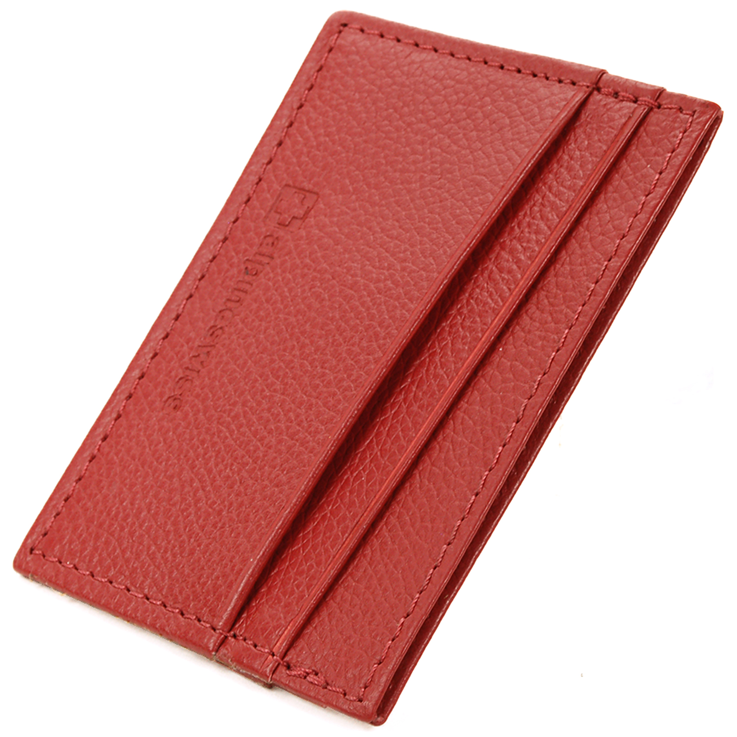 Alpine-Swiss-Super-Slim-Card-Case-Genuine-Leather-ID-Holder-Front-Pocket-Wallet thumbnail 74