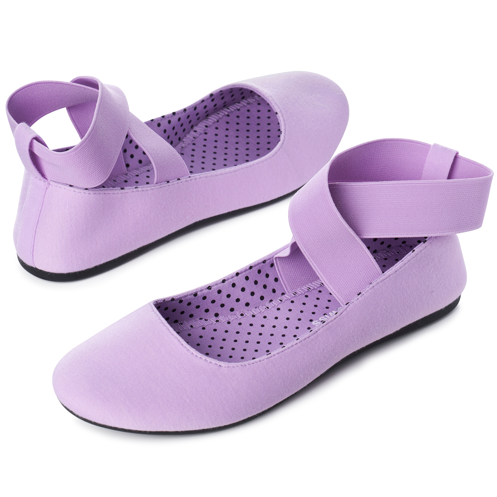 Alpine-Swiss-Peony-Womens-Ballet-Flats-Elastic-Ankle-Strap-Shoes-Slip-On-Loafers thumbnail 56