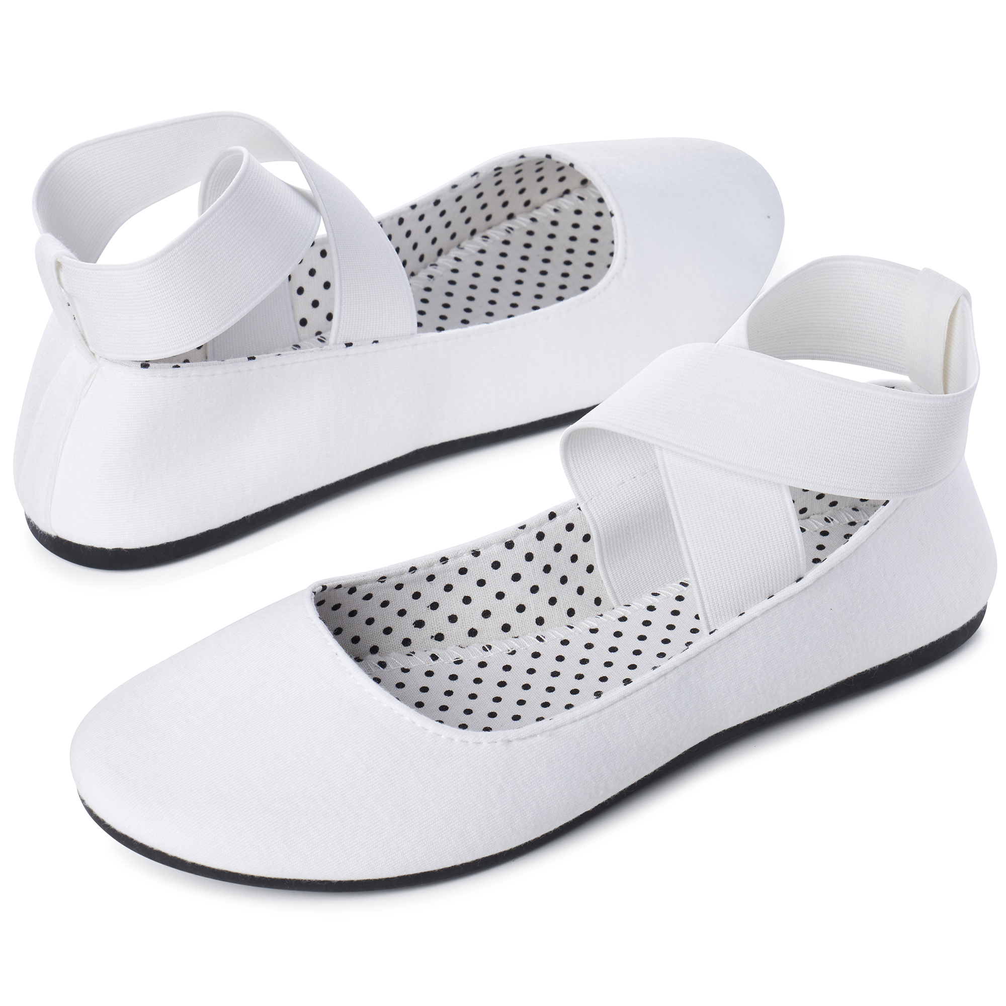 Alpine-Swiss-Peony-Womens-Ballet-Flats-Elastic-Ankle-Strap-Shoes-Slip-On-Loafers thumbnail 67