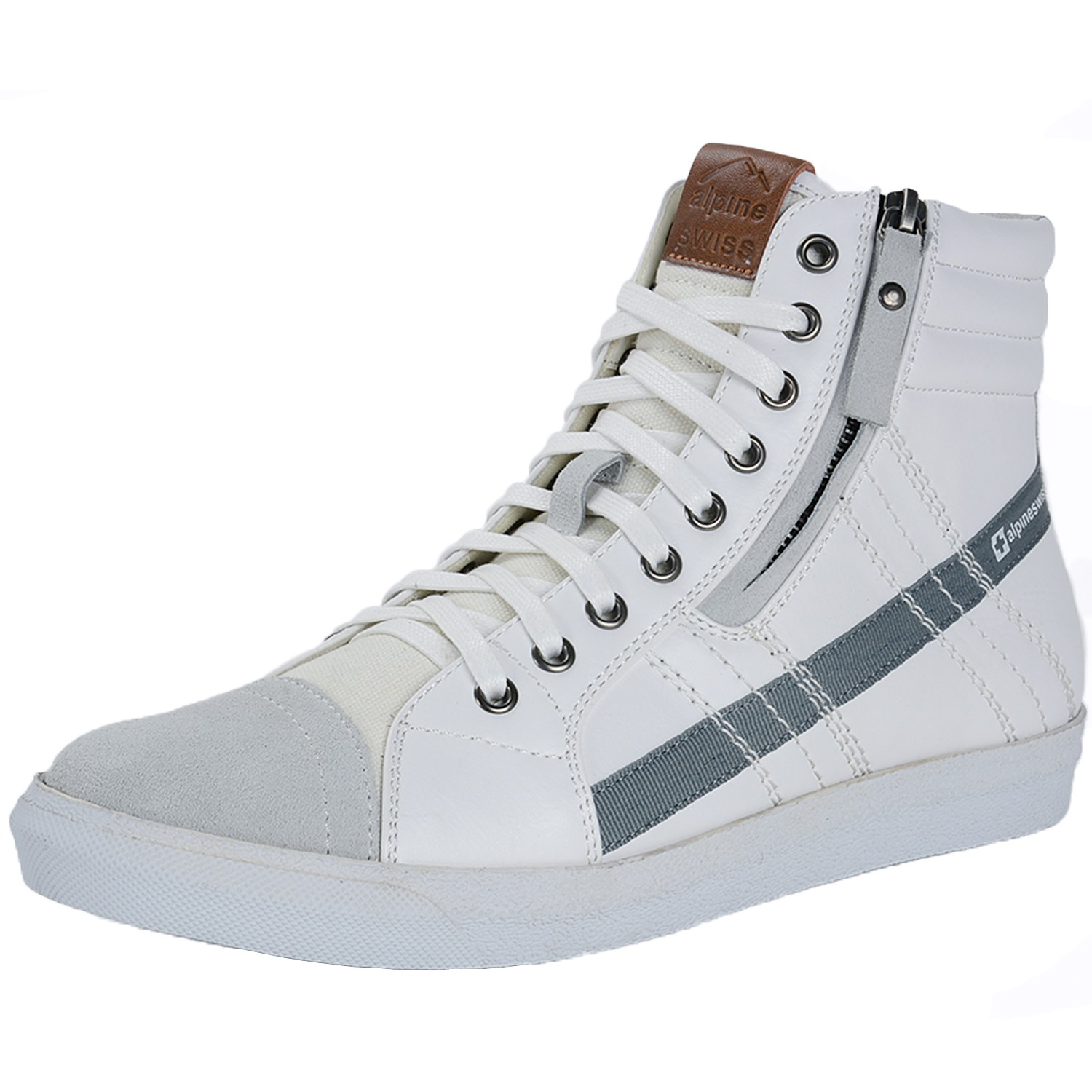 Mens High Top Lace Up Dress Shoes