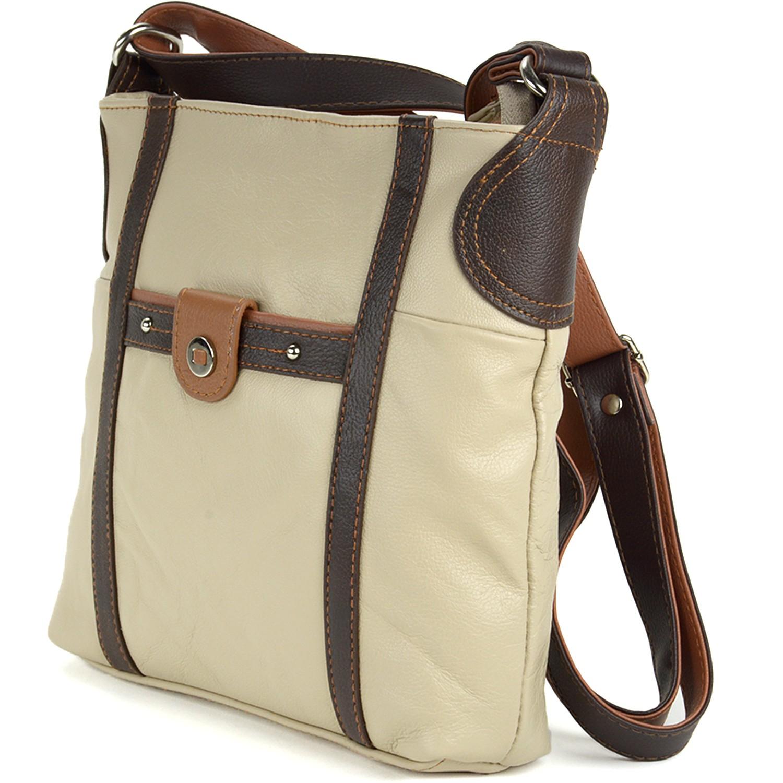 Womens Genuine Leather Shoulder Bag Tote Handbag Purse ...