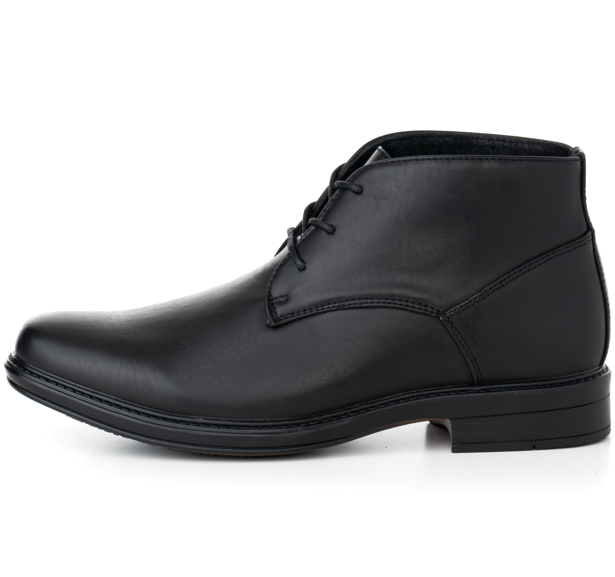 Alpine-Swiss-Mens-Ankle-Boots-Dressy-Casual-Leather-Lined-Dress-Shoes-Lace-up-NW miniature 13