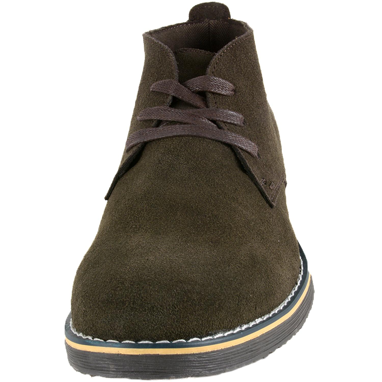 Mens Black Shoe Crepe Sole