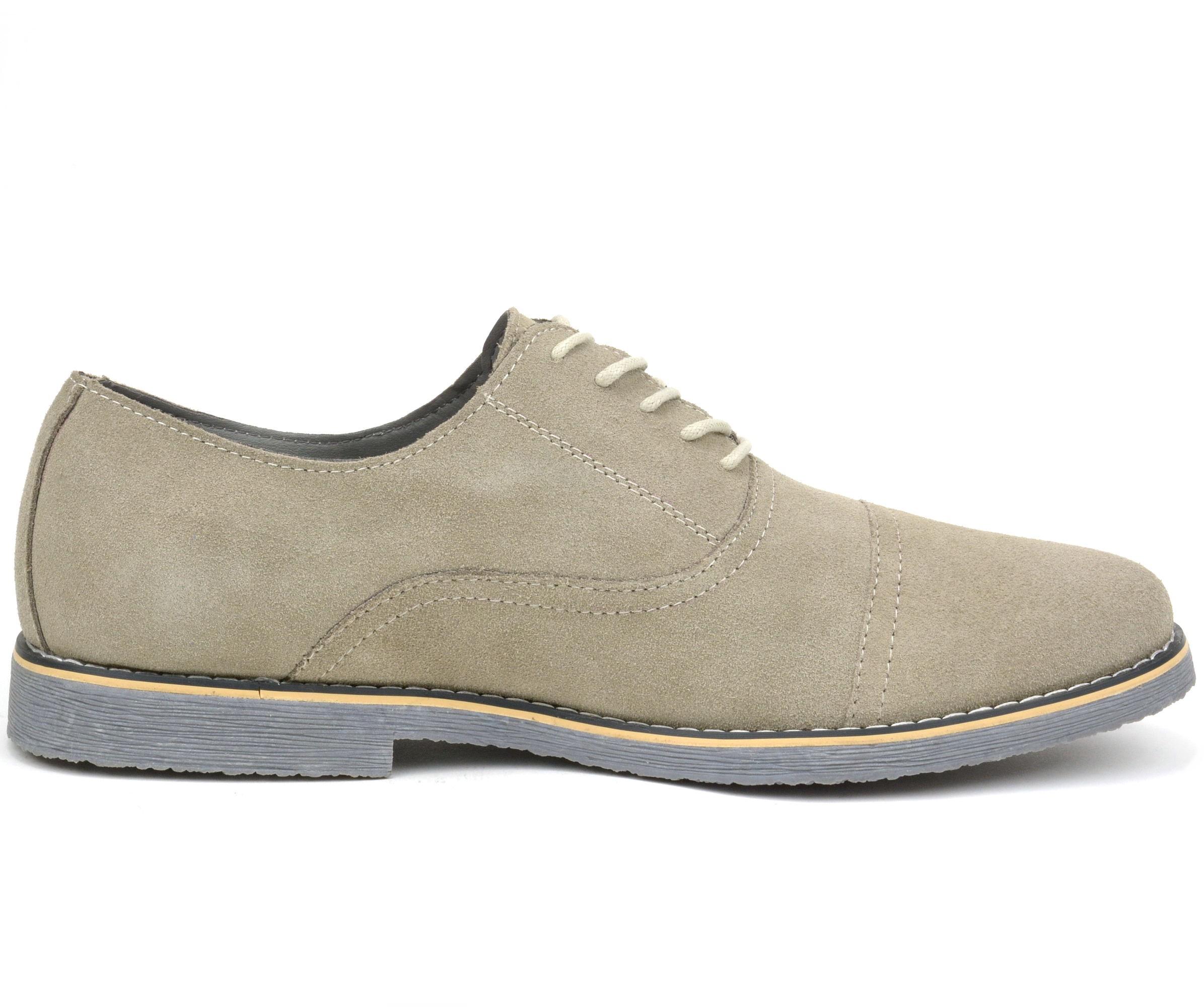 Suede Oxfords Mens Shoes