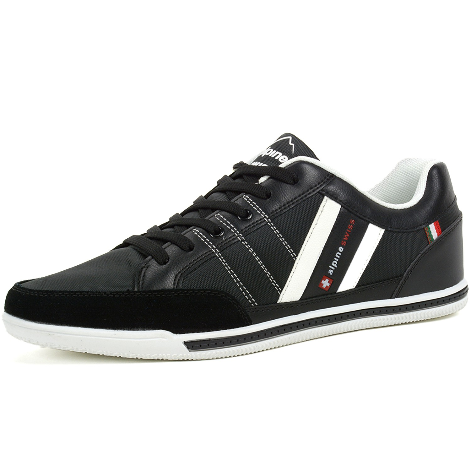 Alpine-Swiss-Stefan-Mens-Retro-Fashion-Sneakers-Tennis-Shoes-Casual-Athletic-New