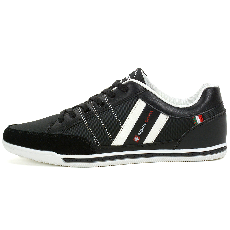best sneakers 510e4 7f5c5 Alpine-Swiss-Stefan-Mens-Retro-Fashion-Sneakers-Tennis-