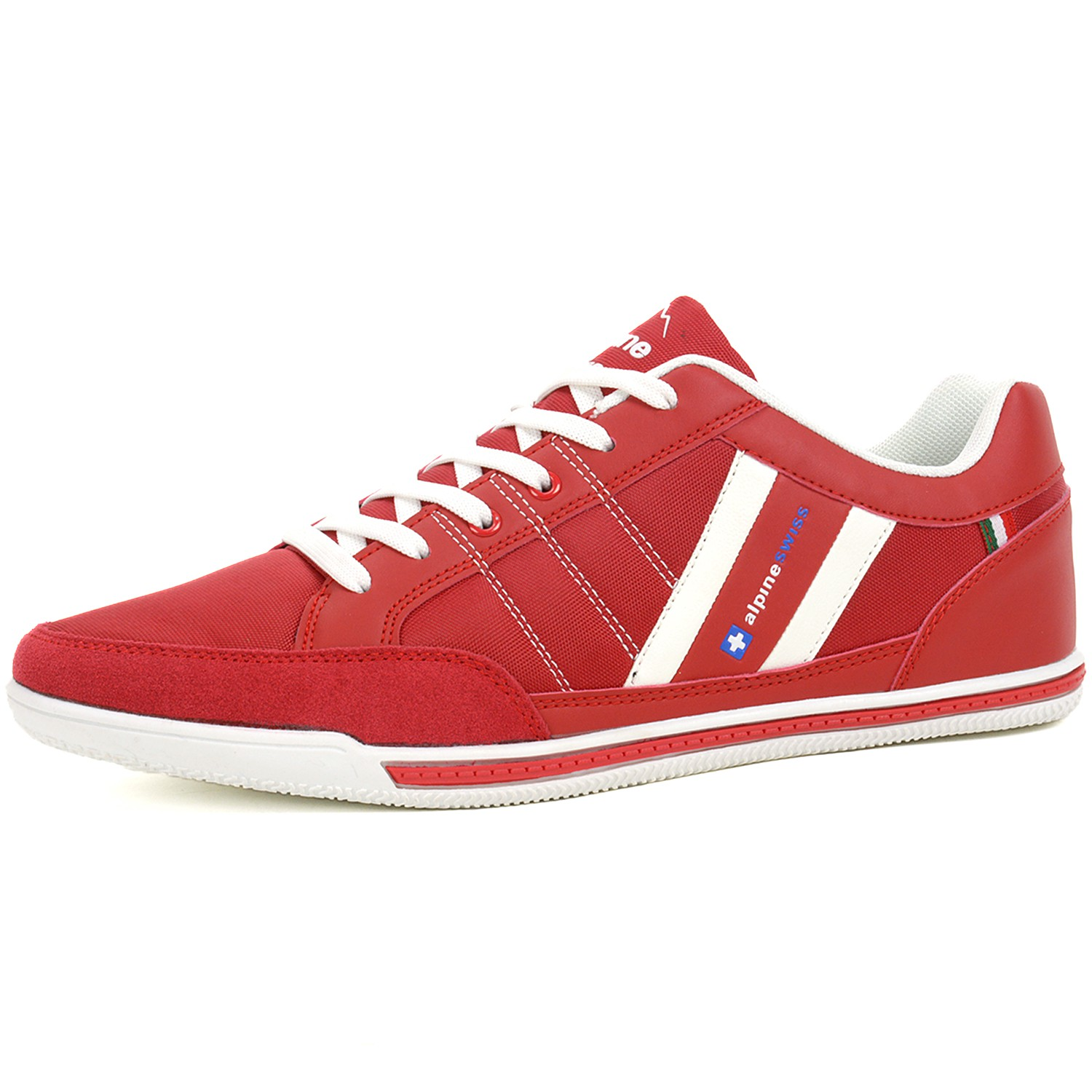 All Red Womens Tennis Shoes