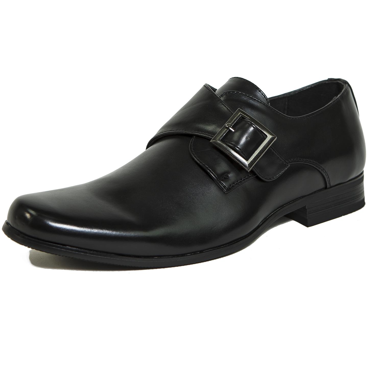 Mens Suede Dress Shoes Black