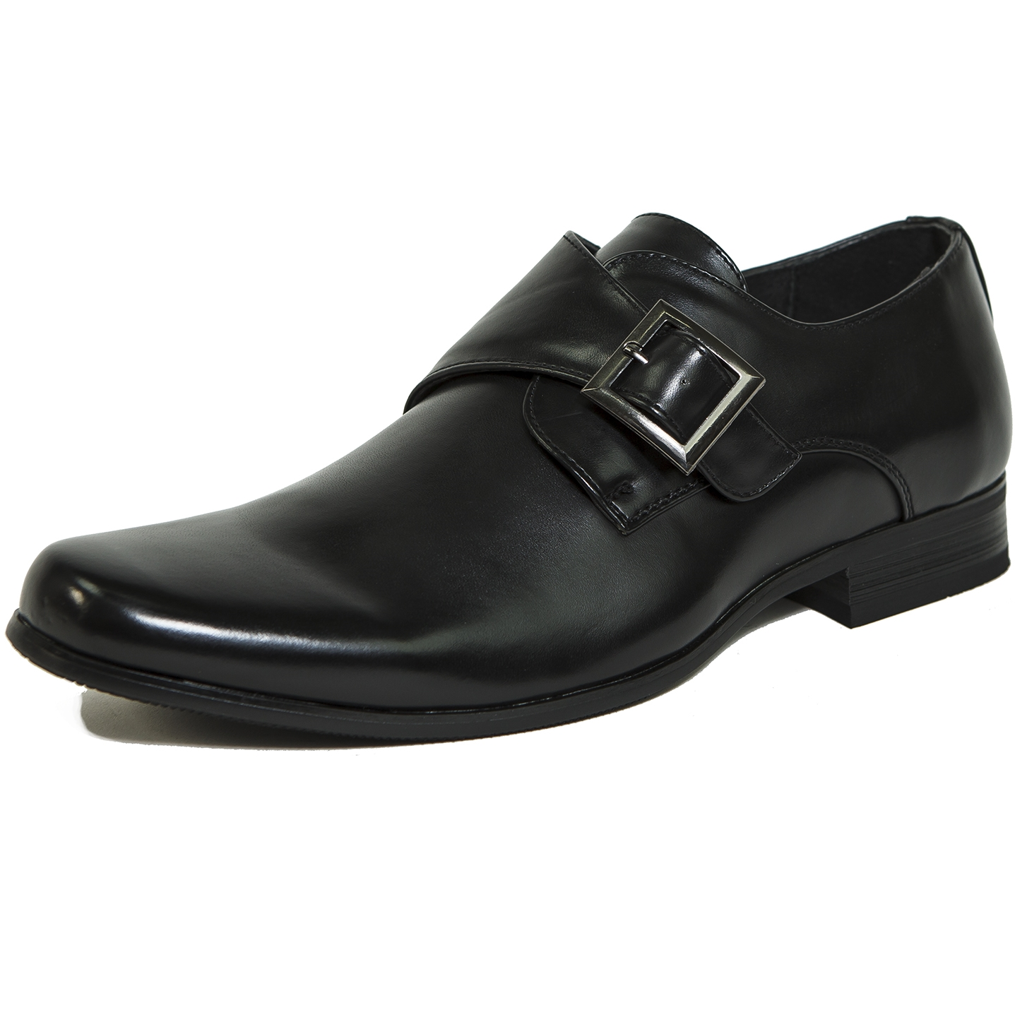 Mens Shoes Buckle Strap
