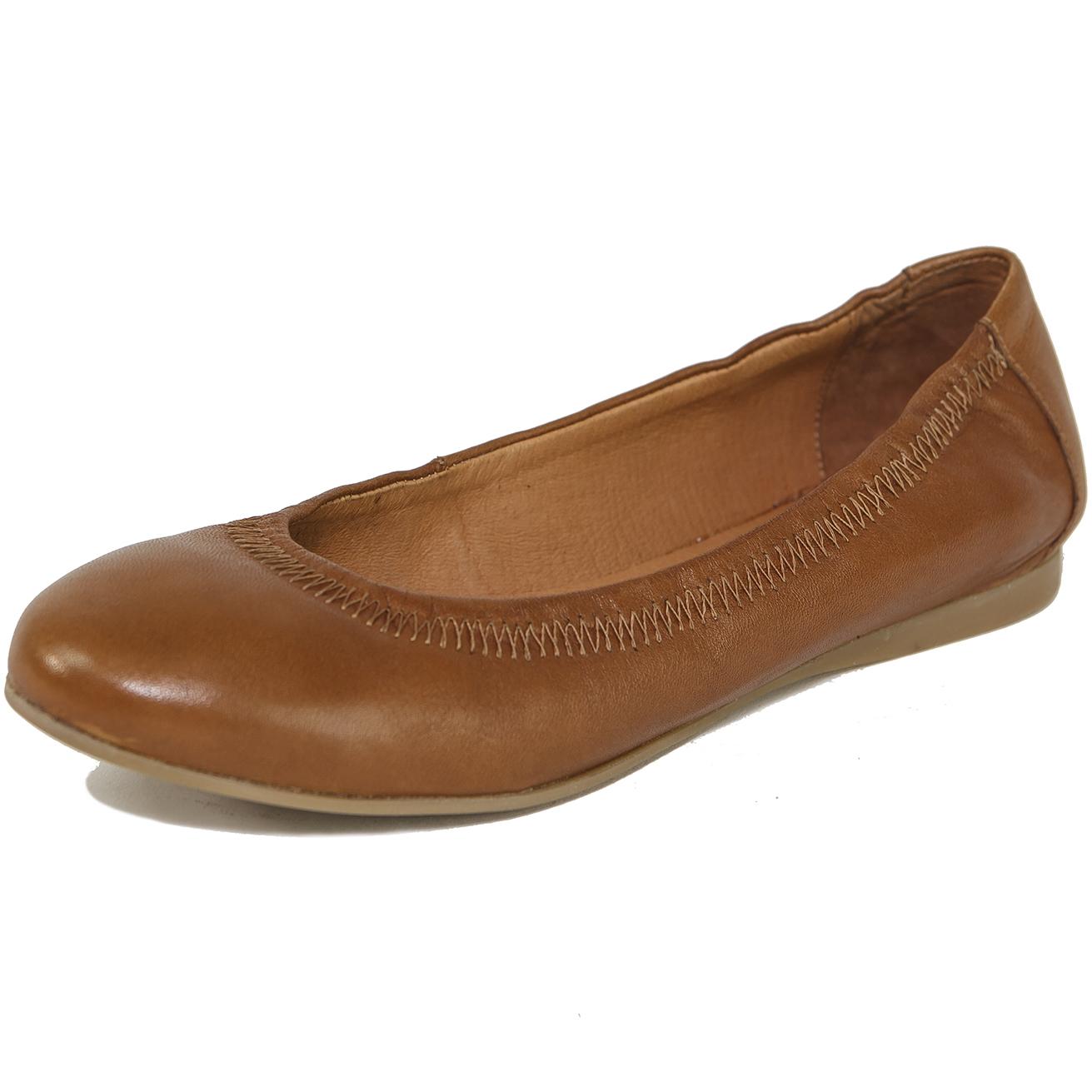 9e141f028a6 Alpine Swiss Women s Vera Ballet Flats European Made Shoes Leather ...