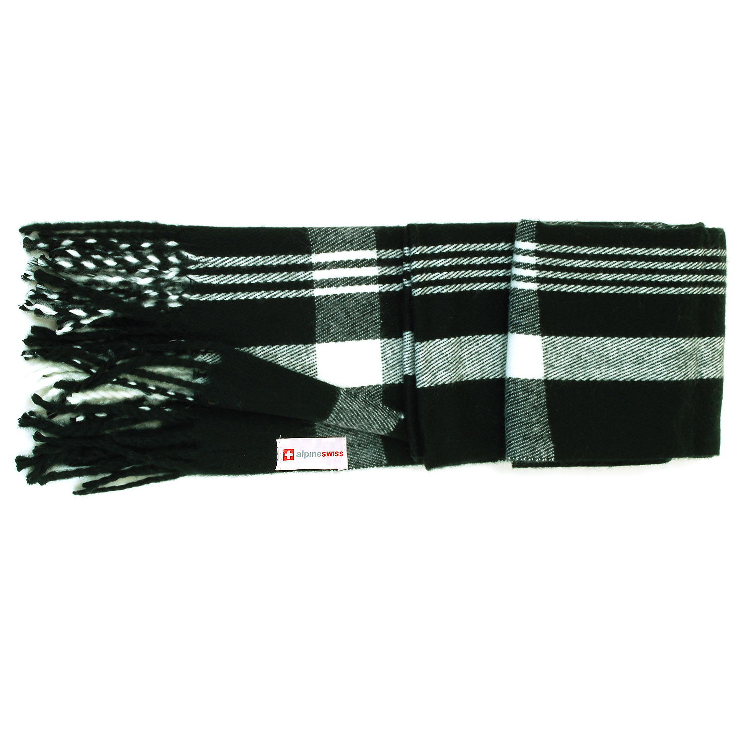 Alpine-Swiss-Mens-Scarf-Softer-Than-Cashmere-Scarves-Plaids-Womens-Winter-Shawl thumbnail 12