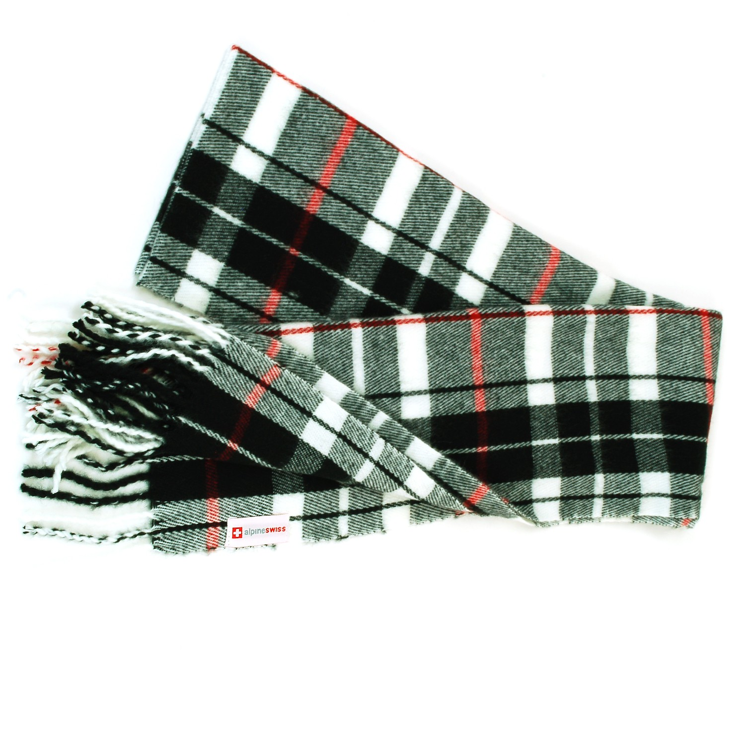 Alpine-Swiss-Mens-Scarf-Softer-Than-Cashmere-Scarves-Plaids-Womens-Winter-Shawl thumbnail 73