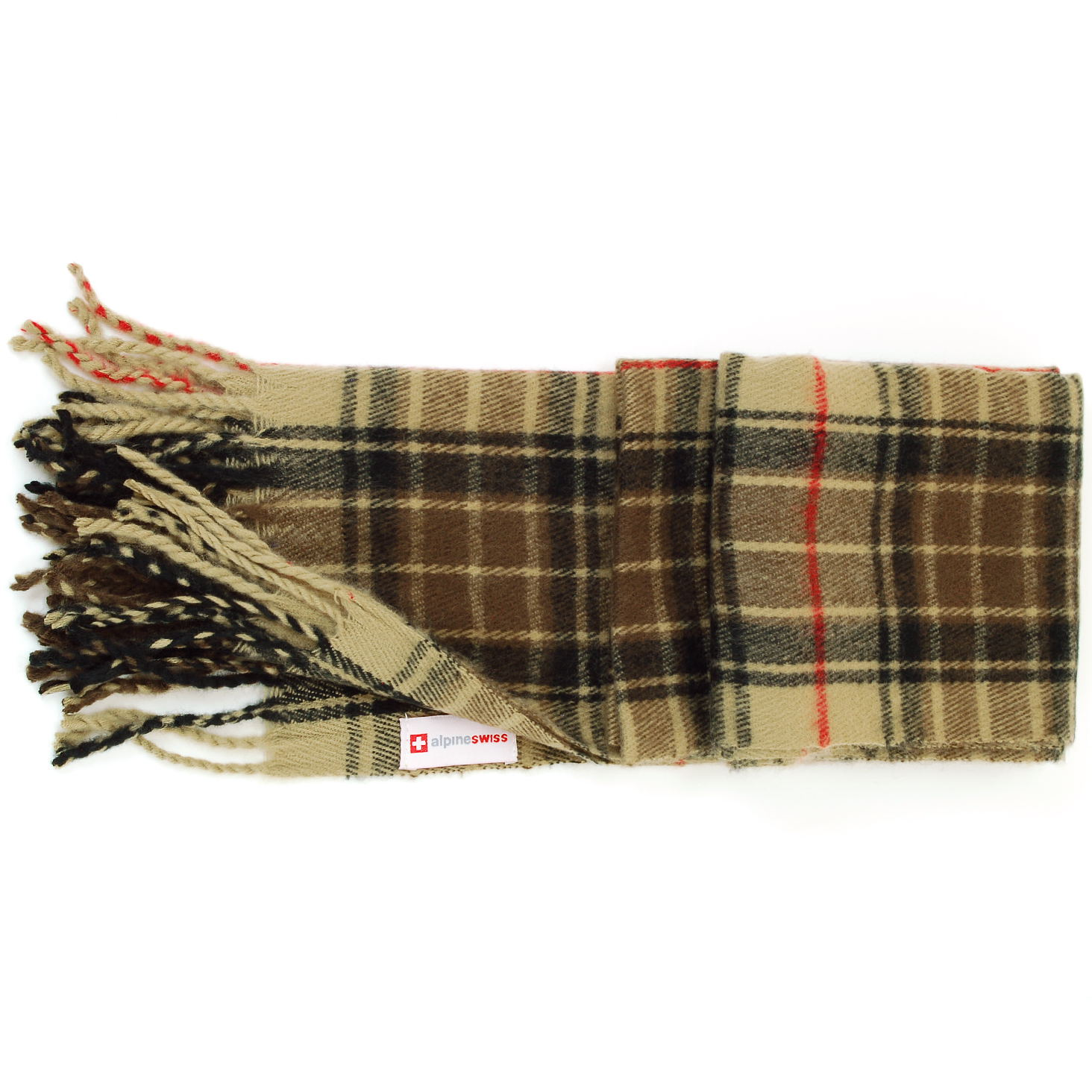 Alpine-Swiss-Mens-Scarf-Softer-Than-Cashmere-Scarves-Plaids-Womens-Winter-Shawl thumbnail 30