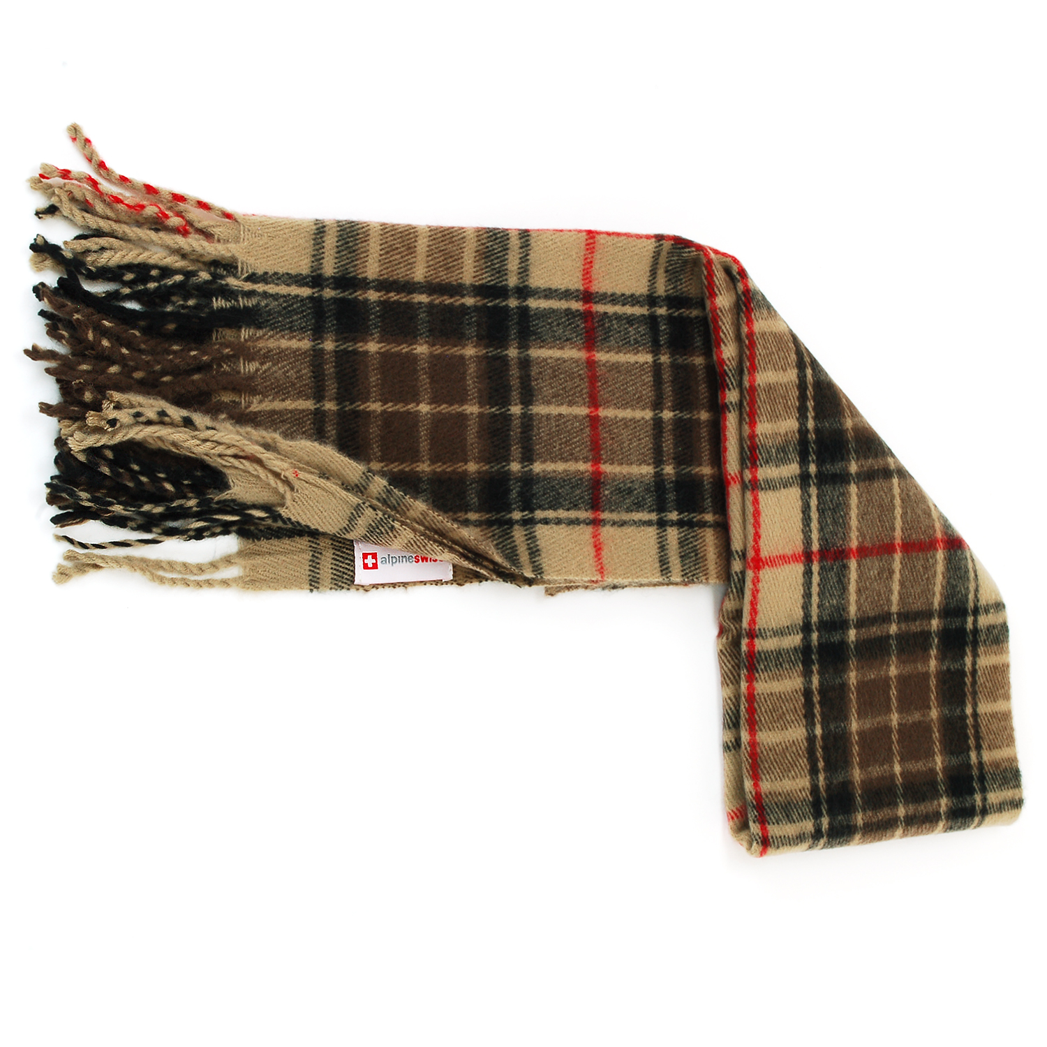 Alpine-Swiss-Mens-Scarf-Softer-Than-Cashmere-Scarves-Plaids-Womens-Winter-Shawl thumbnail 31