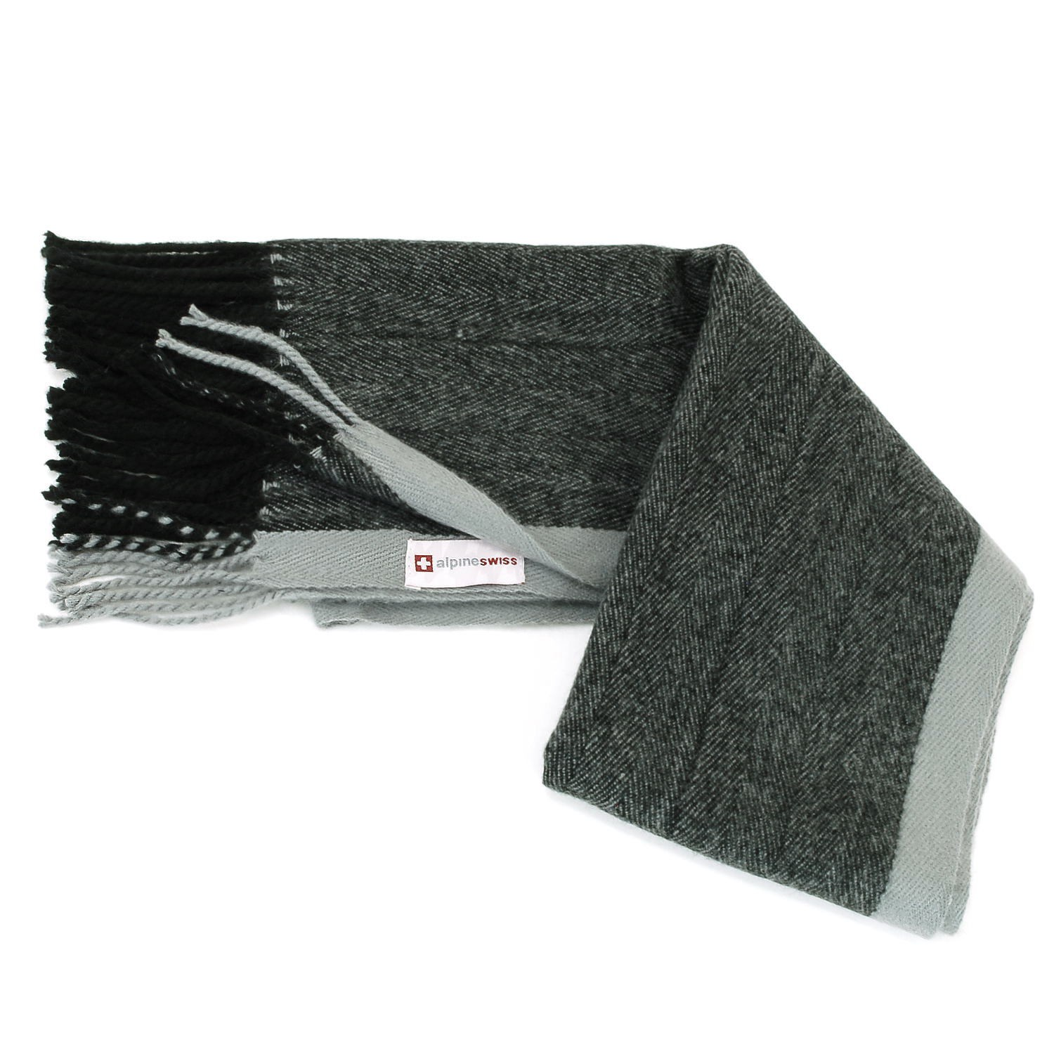 Alpine-Swiss-Mens-Scarf-Softer-Than-Cashmere-Scarves-Plaids-Womens-Winter-Shawl thumbnail 44