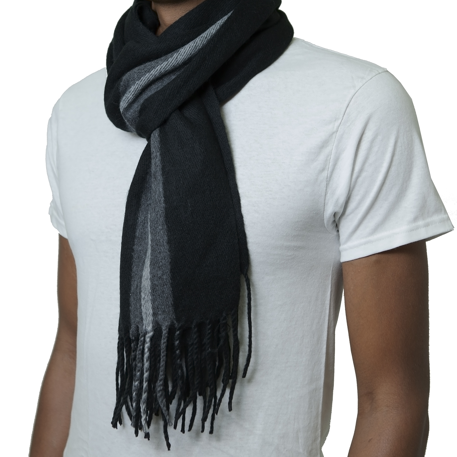 Alpine-Swiss-Mens-Scarf-Softer-Than-Cashmere-Scarves-Plaids-Womens-Winter-Shawl thumbnail 17