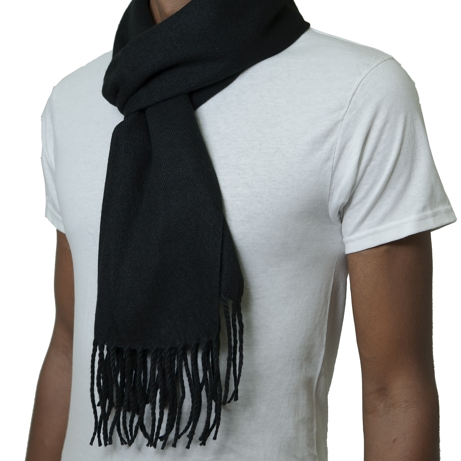 Alpine-Swiss-Mens-Scarf-Softer-Than-Cashmere-Scarves-Plaids-Womens-Winter-Shawl thumbnail 81
