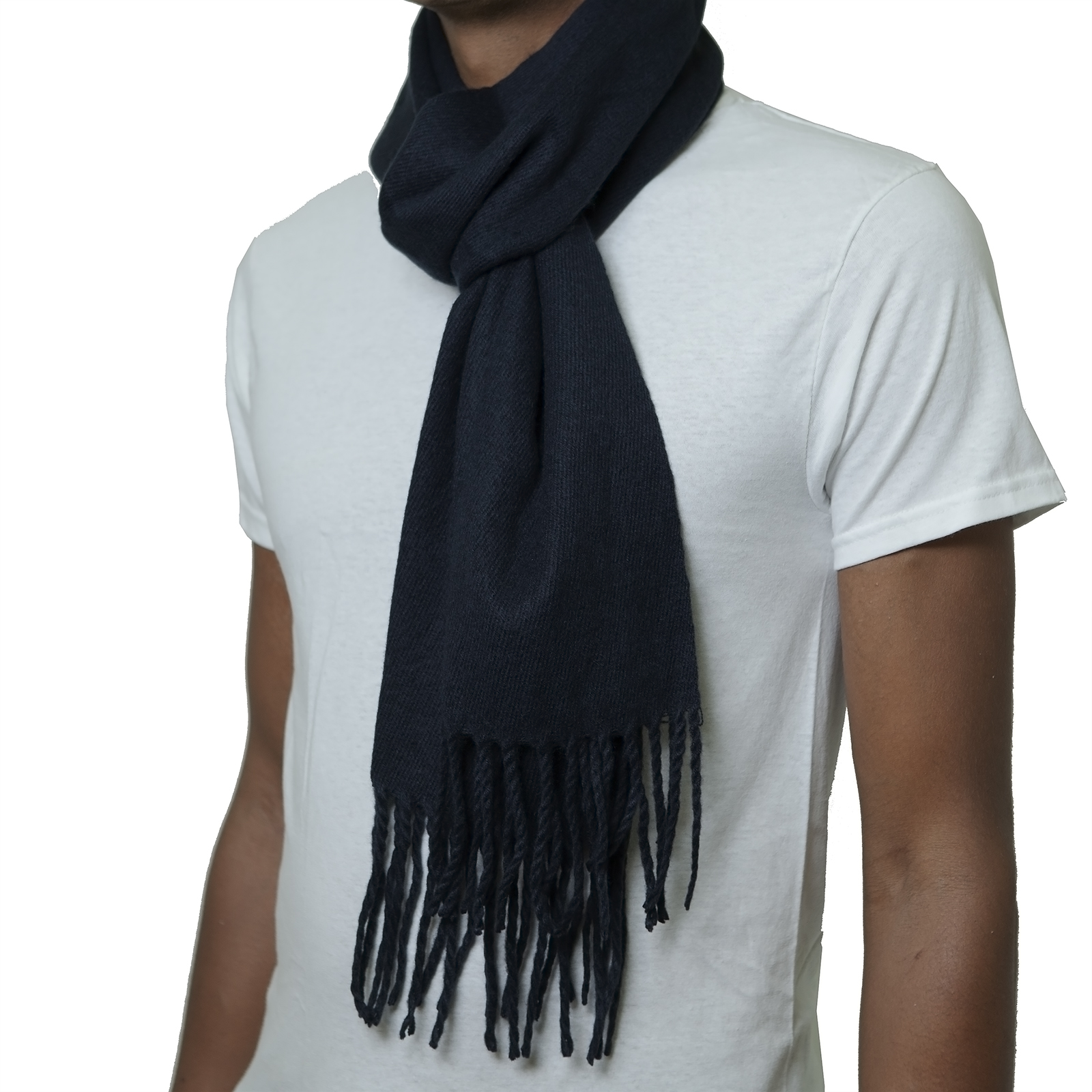 Alpine-Swiss-Mens-Scarf-Softer-Than-Cashmere-Scarves-Plaids-Womens-Winter-Shawl thumbnail 91