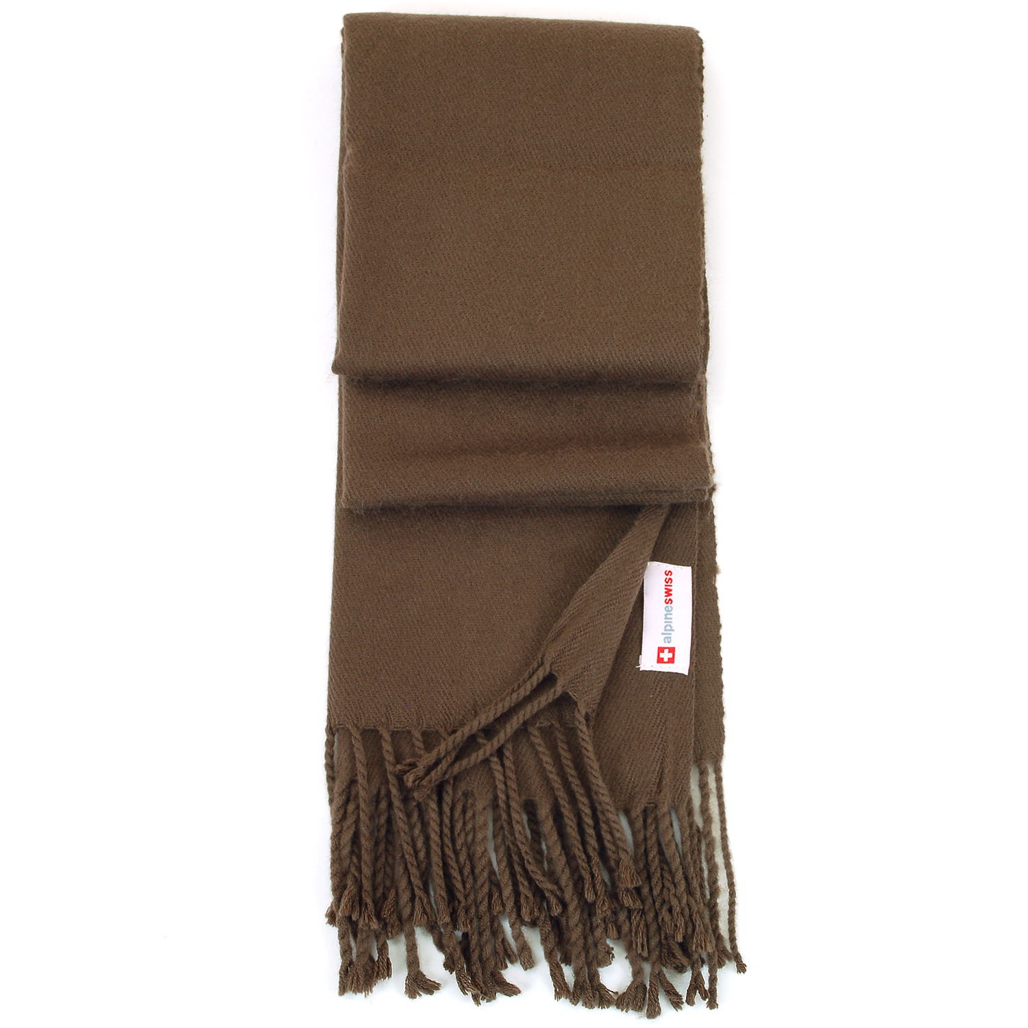 Alpine-Swiss-Mens-Scarf-Softer-Than-Cashmere-Scarves-Plaids-Womens-Winter-Shawl thumbnail 24
