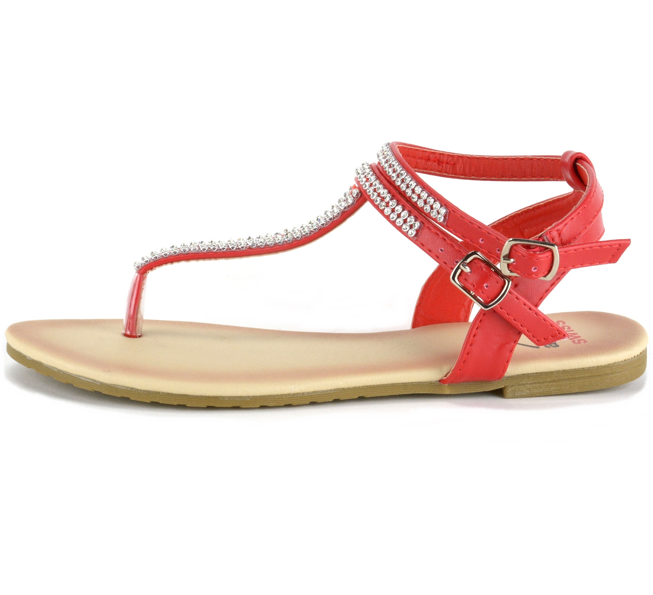 1fb8219e2a4dfd Alpine Swiss Womens Gladiator Sandals T-Strap Slingback Roman ...
