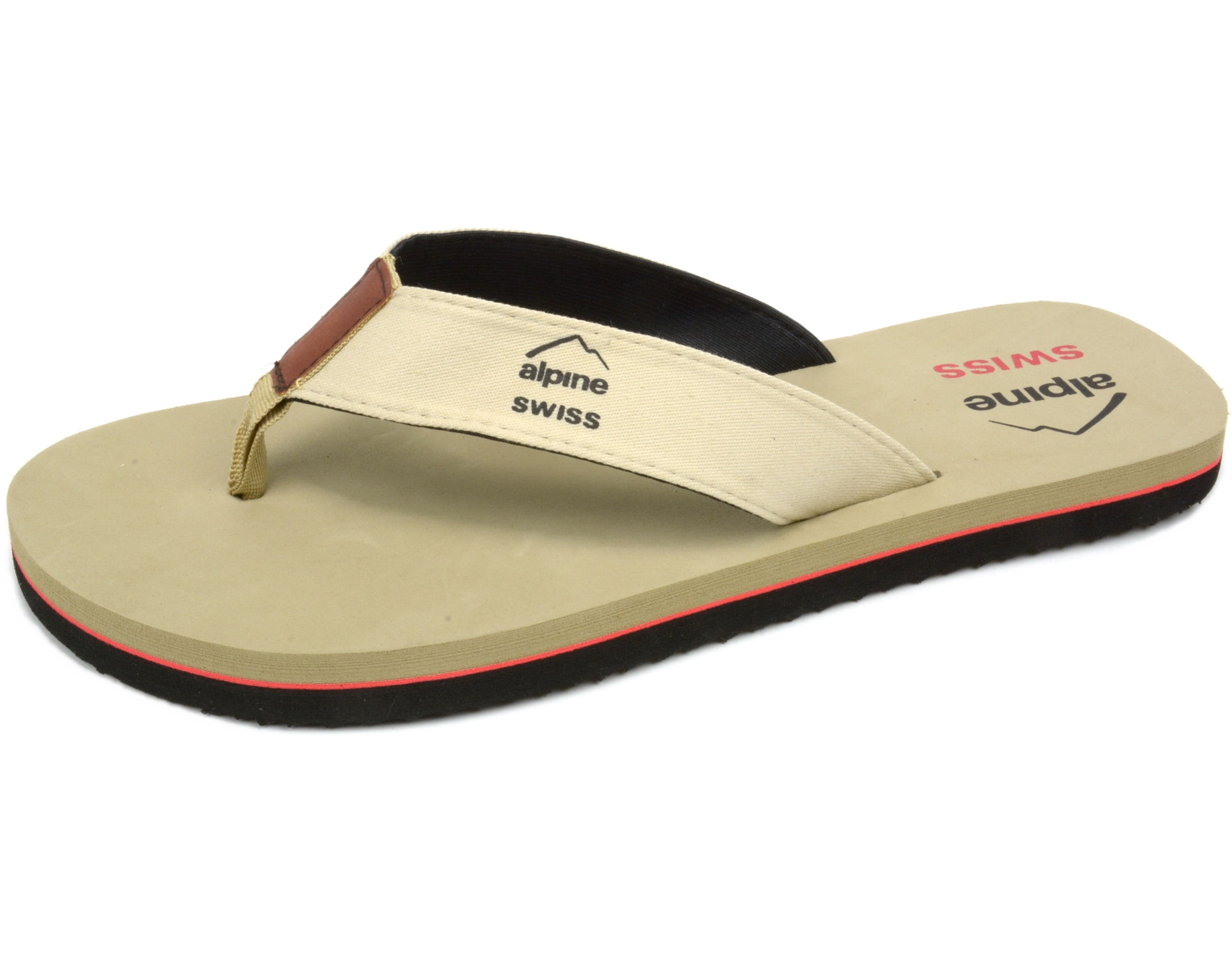 Alpine-Swiss-Men-039-s-Flip-Flops-Beach-Sandals-Lightweight-EVA-Sole-Comfort-Thongs