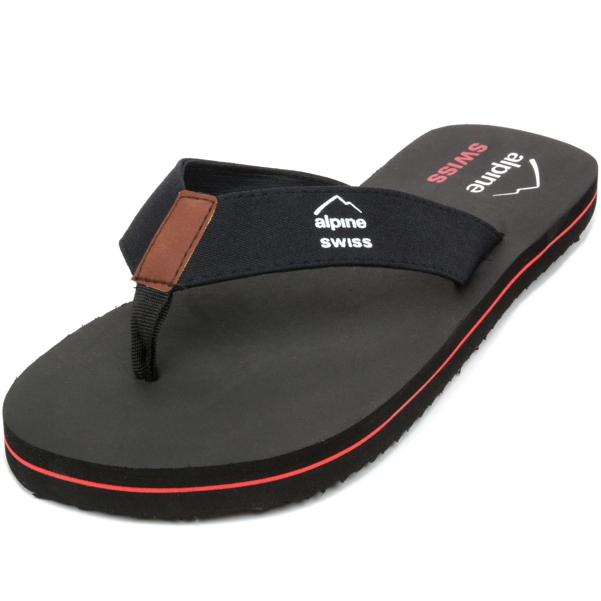 Alpine-Swiss-Mens-Flip-Flops-Beach-Sandals-Lightweight-EVA-Sole-Comfort-Thongs thumbnail 15