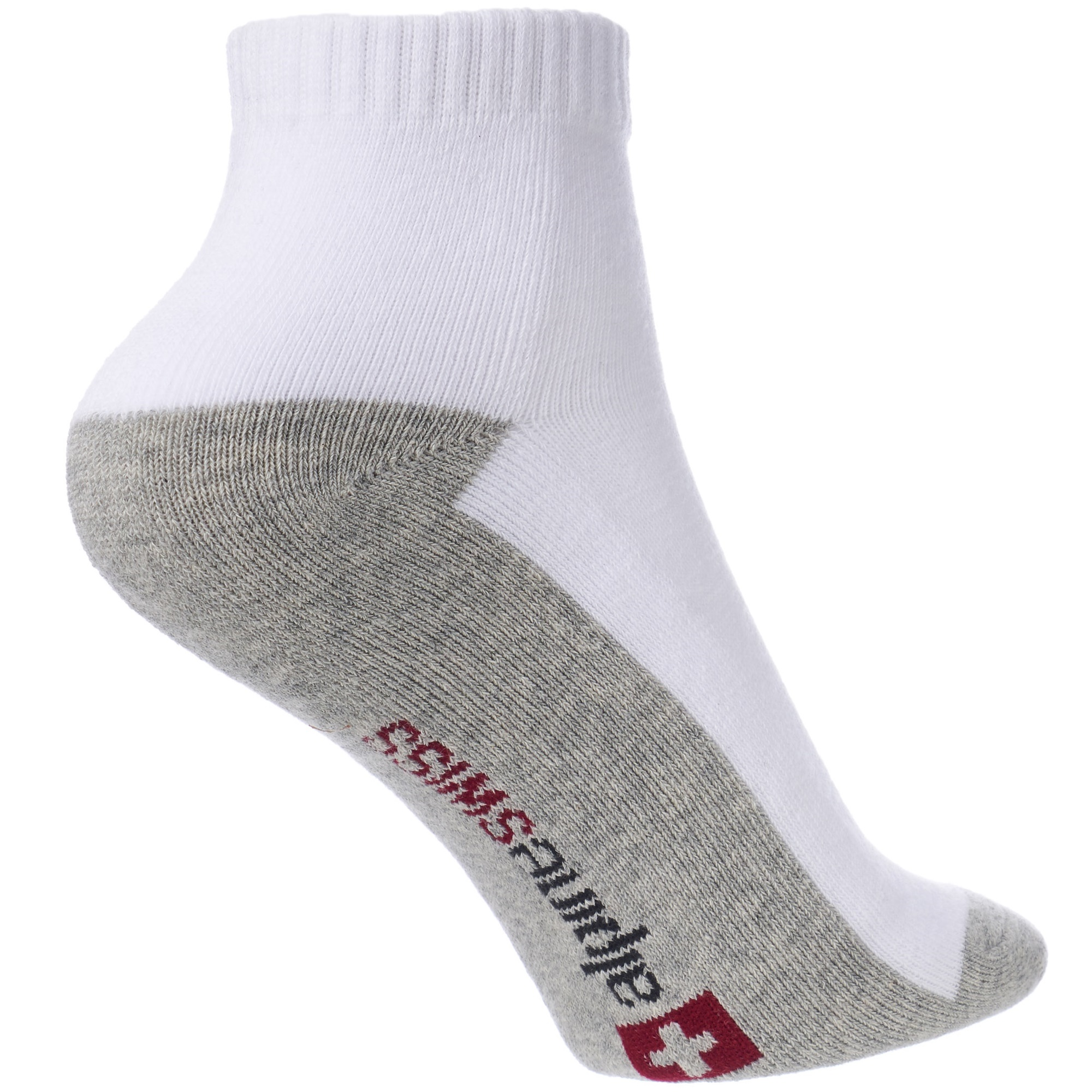 Alpine-Swiss-Mens-8-Pack-Ankle-Socks-Low-Cut-Cotton-Athletic-Sock-Shoe-Size-6-12 thumbnail 29