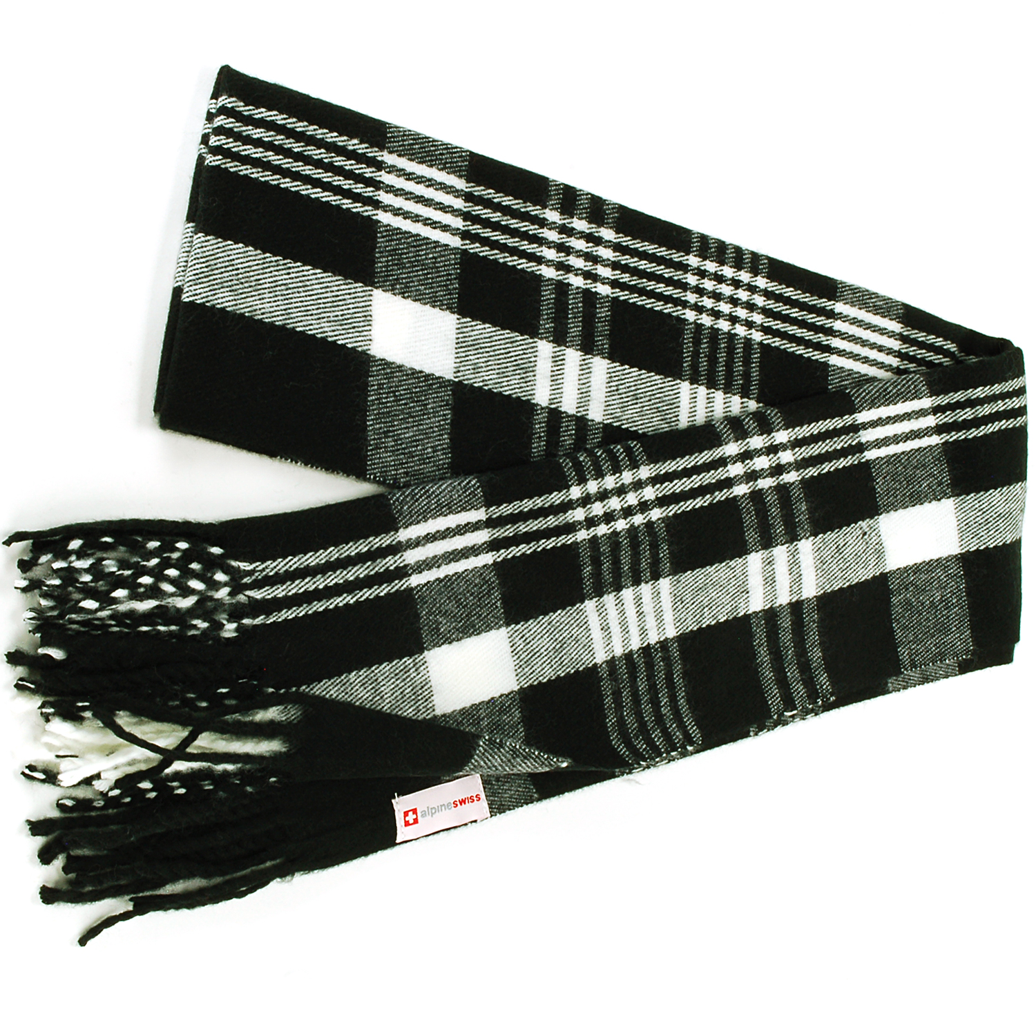 Alpine-Swiss-Mens-Scarf-Softer-Than-Cashmere-Scarves-Plaids-Womens-Winter-Shawl thumbnail 14