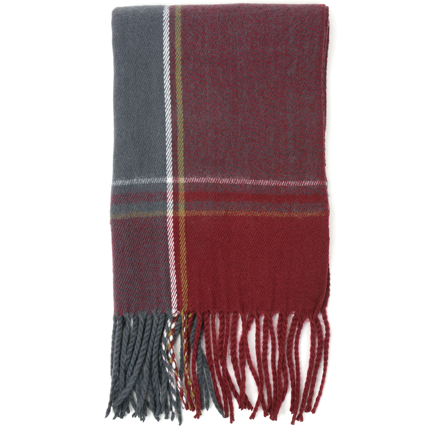 Alpine-Swiss-Mens-Scarf-Softer-Than-Cashmere-Scarves-Plaids-Womens-Winter-Shawl thumbnail 62