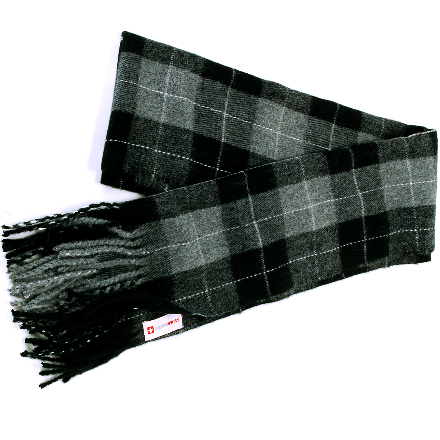 Alpine-Swiss-Mens-Scarf-Softer-Than-Cashmere-Scarves-Plaids-Womens-Winter-Shawl thumbnail 49