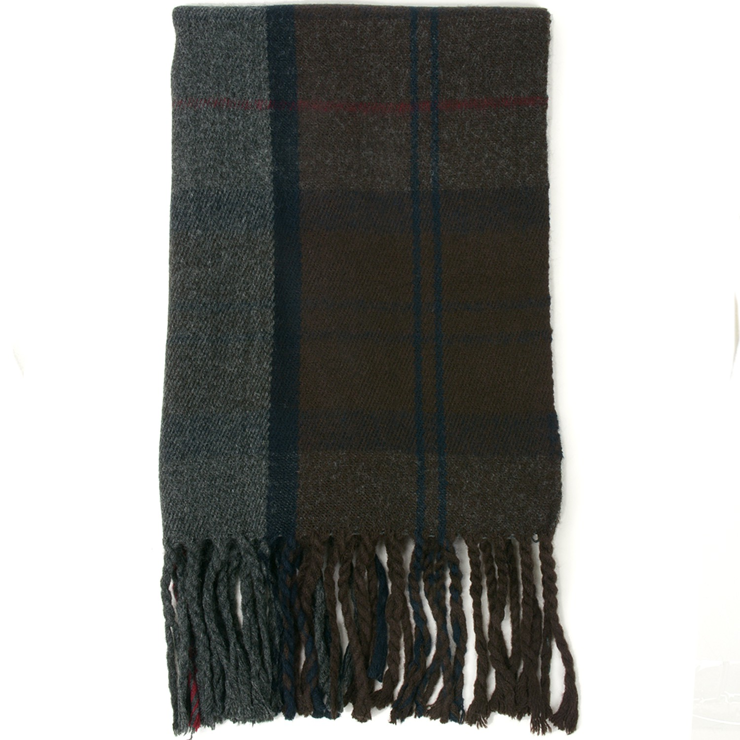 Alpine-Swiss-Mens-Scarf-Softer-Than-Cashmere-Scarves-Plaids-Womens-Winter-Shawl thumbnail 59