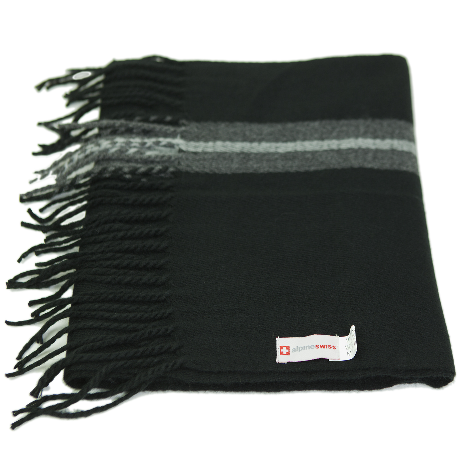 Alpine-Swiss-Mens-Scarf-Softer-Than-Cashmere-Scarves-Plaids-Womens-Winter-Shawl thumbnail 18