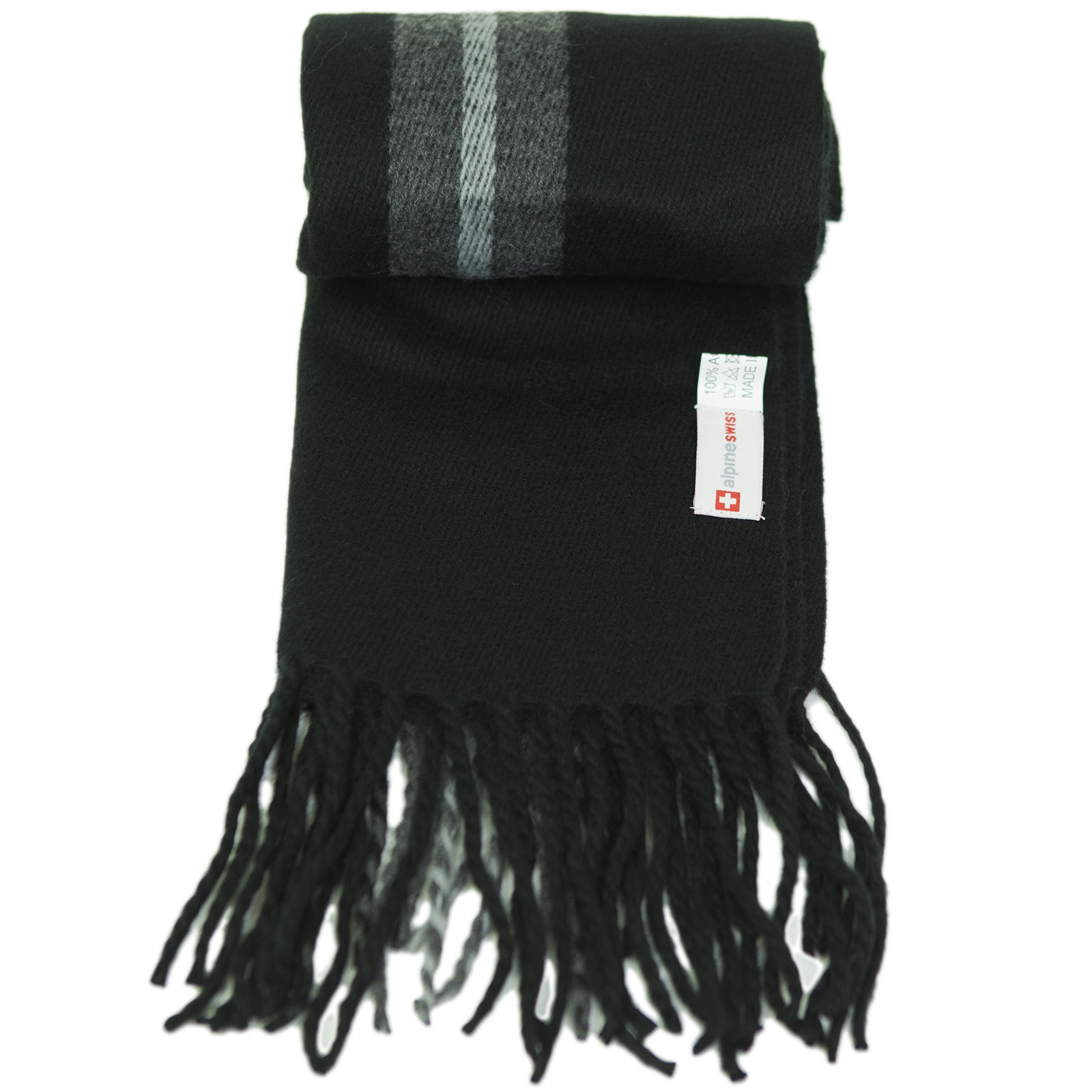 Alpine-Swiss-Mens-Scarf-Softer-Than-Cashmere-Scarves-Plaids-Womens-Winter-Shawl thumbnail 19