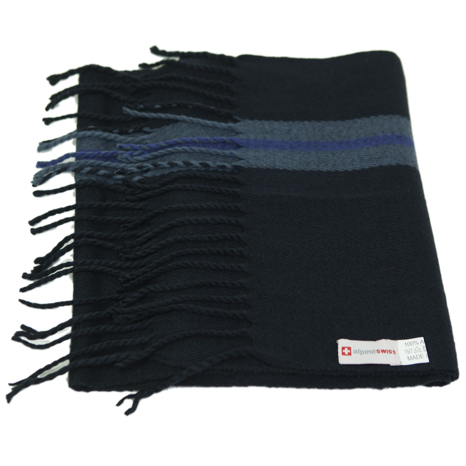 Alpine-Swiss-Mens-Scarf-Softer-Than-Cashmere-Scarves-Plaids-Womens-Winter-Shawl thumbnail 67