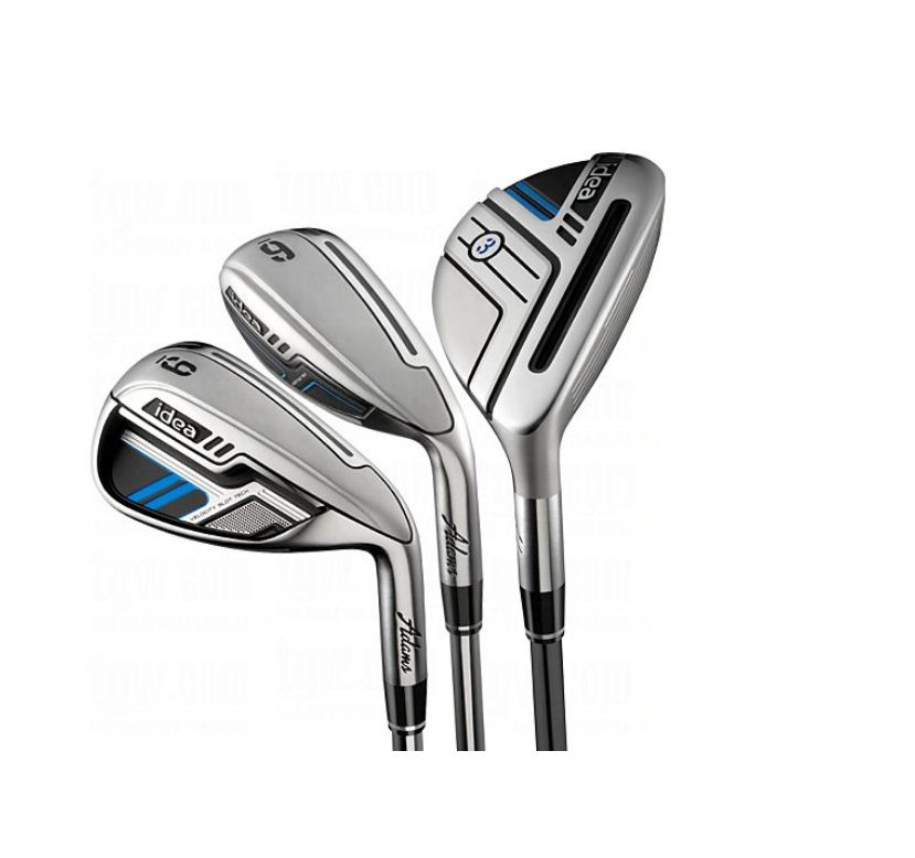 What Does Hyb Mean >> Adams-Golf-New-Idea-Hybrid-Iron-Set-3H-4H-5H-6-PW-MLH ...