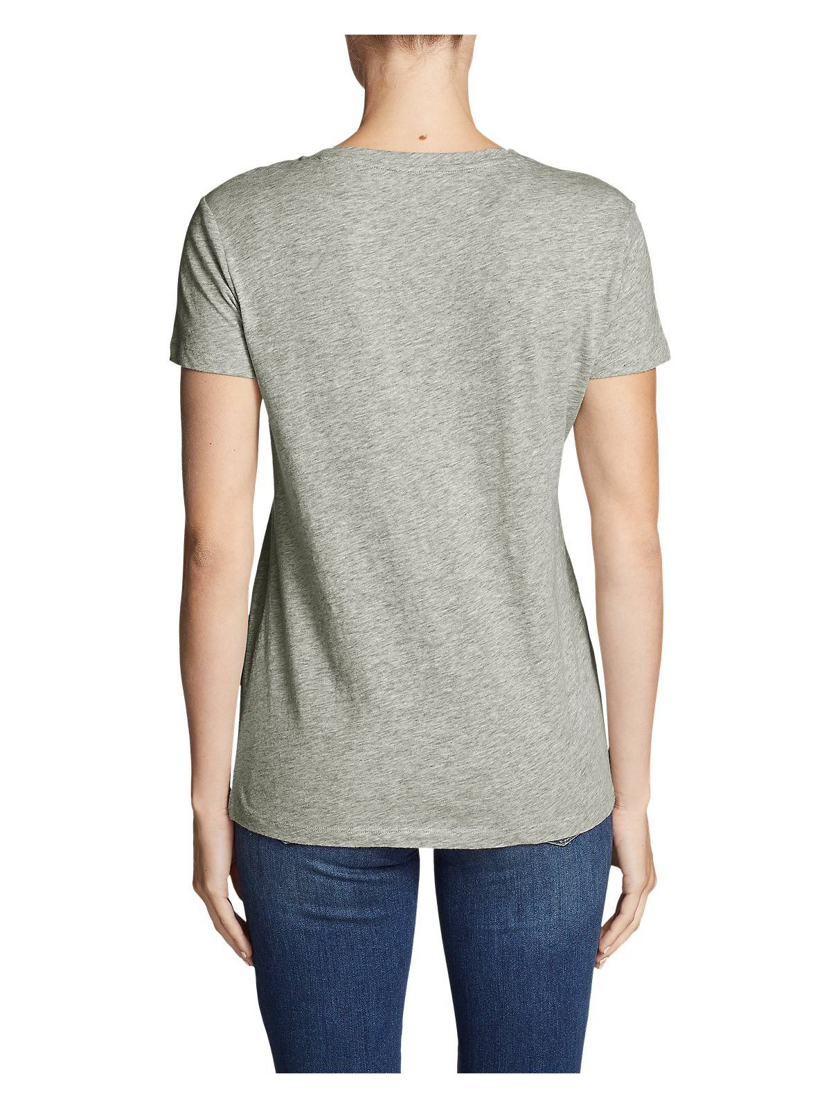 Eddie-Bauer-Women-039-s-Legend-Wash-Slub-Short-Sleeve-V-Neck-T-Shirt thumbnail 15