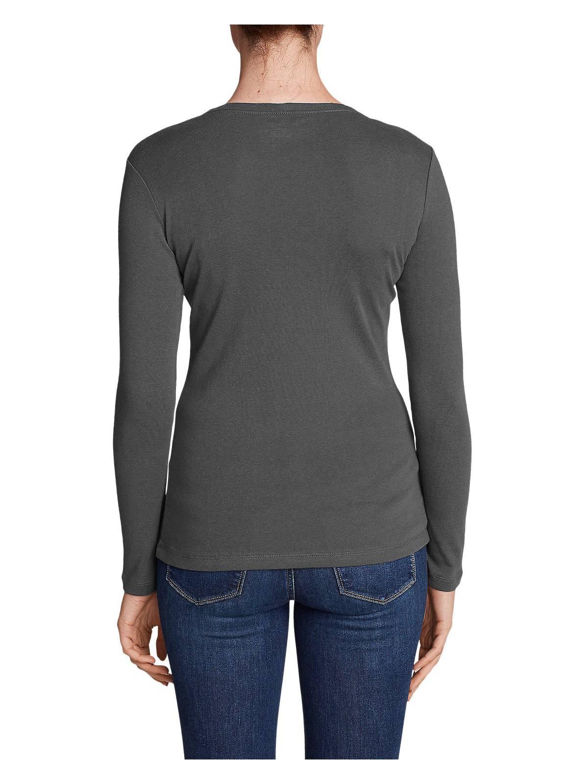 Eddie-Bauer-Women-039-s-Favorite-Long-Sleeve-Crewneck-T-Shirt thumbnail 45