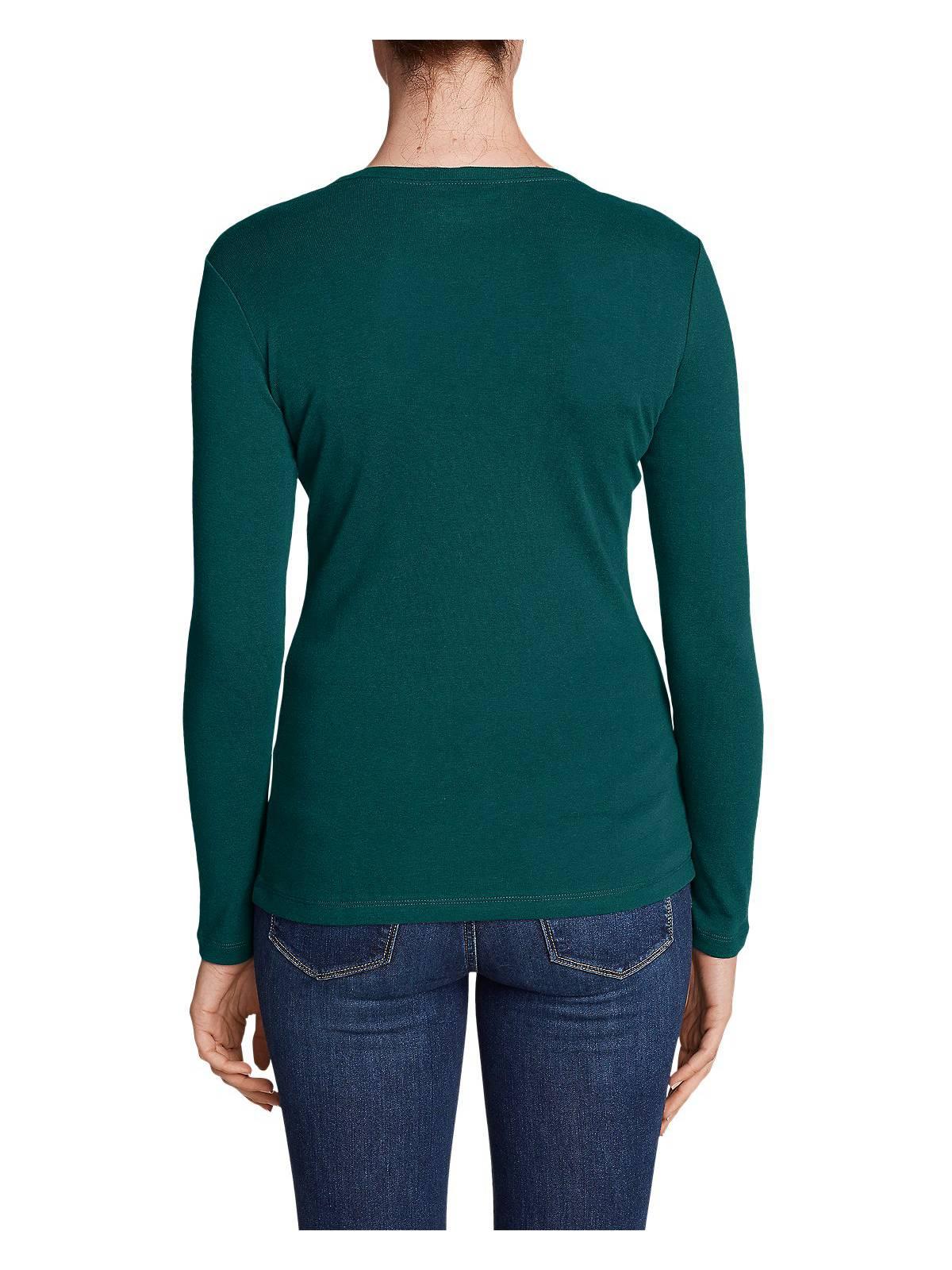 Eddie-Bauer-Women-039-s-Favorite-Long-Sleeve-Crewneck-T-Shirt thumbnail 36