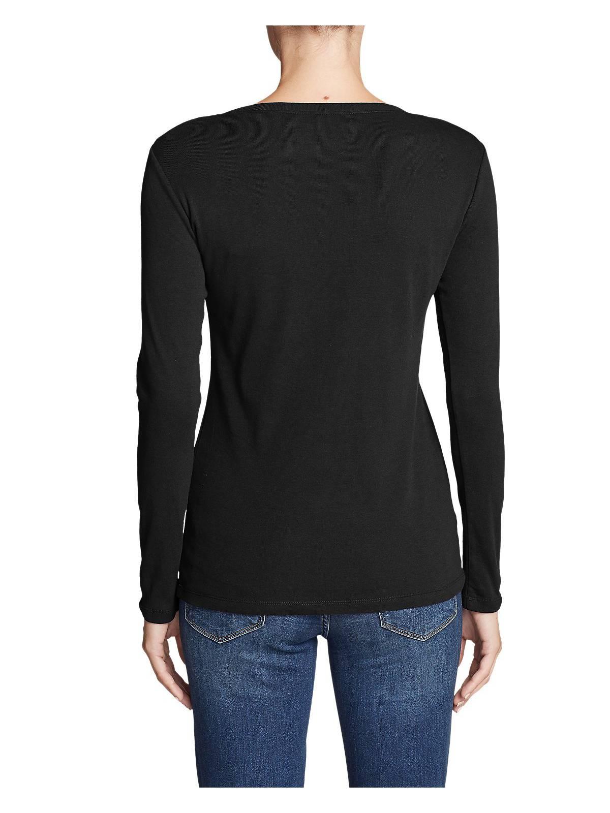 Eddie-Bauer-Women-039-s-Favorite-Long-Sleeve-Crewneck-T-Shirt thumbnail 8
