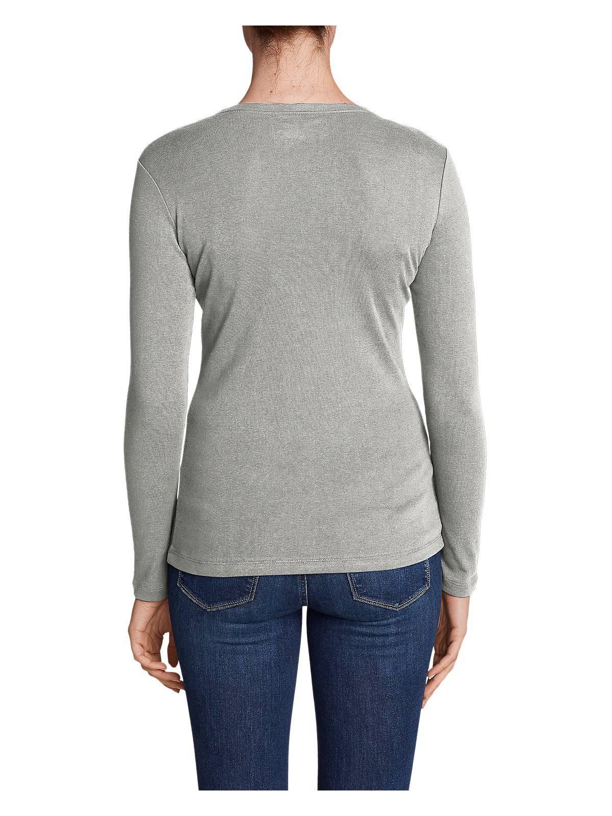 Eddie-Bauer-Women-039-s-Favorite-Long-Sleeve-Crewneck-T-Shirt thumbnail 24
