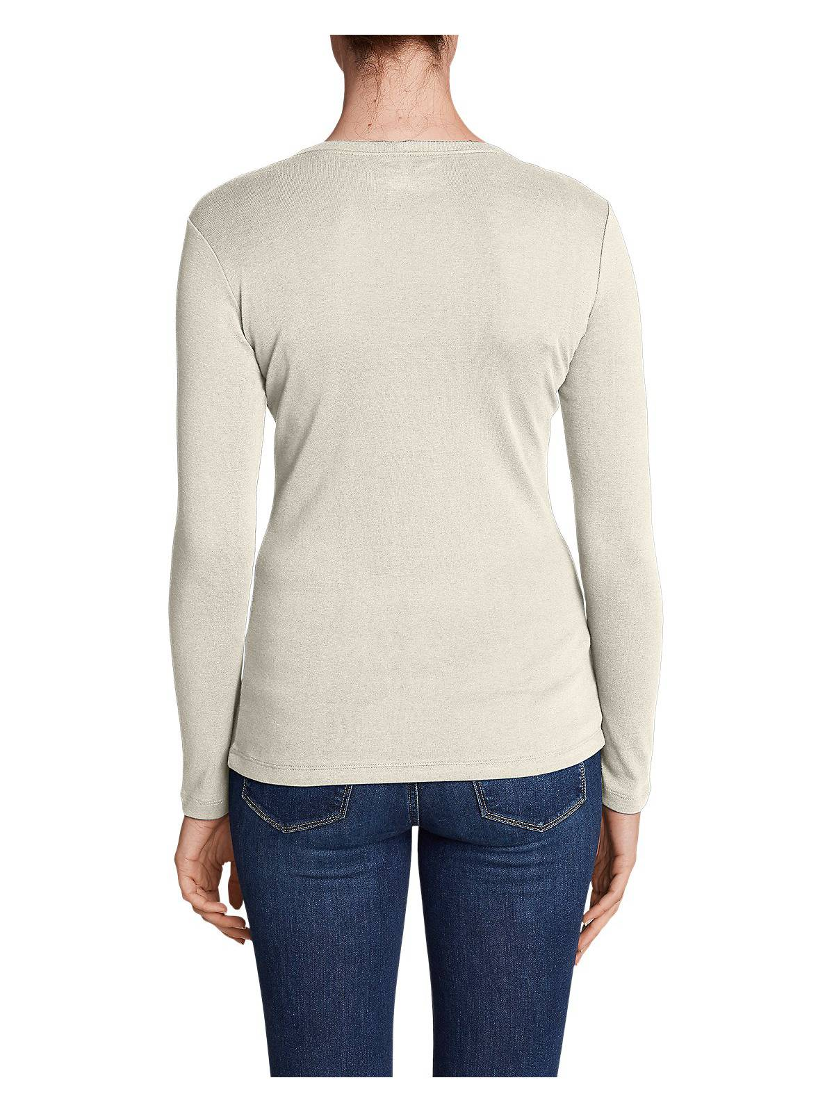 Eddie-Bauer-Women-039-s-Favorite-Long-Sleeve-Crewneck-T-Shirt thumbnail 32