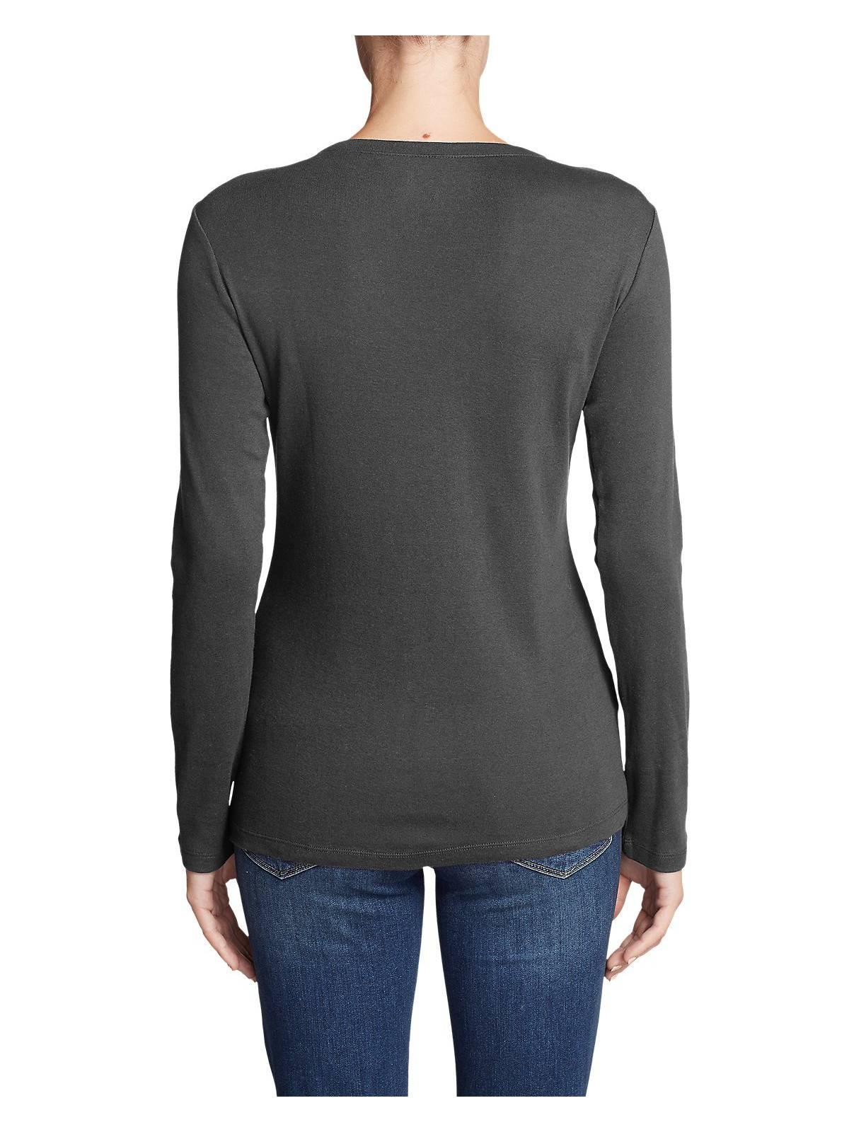 Eddie-Bauer-Women-039-s-Favorite-Long-Sleeve-V-Neck-T-Shirt thumbnail 21