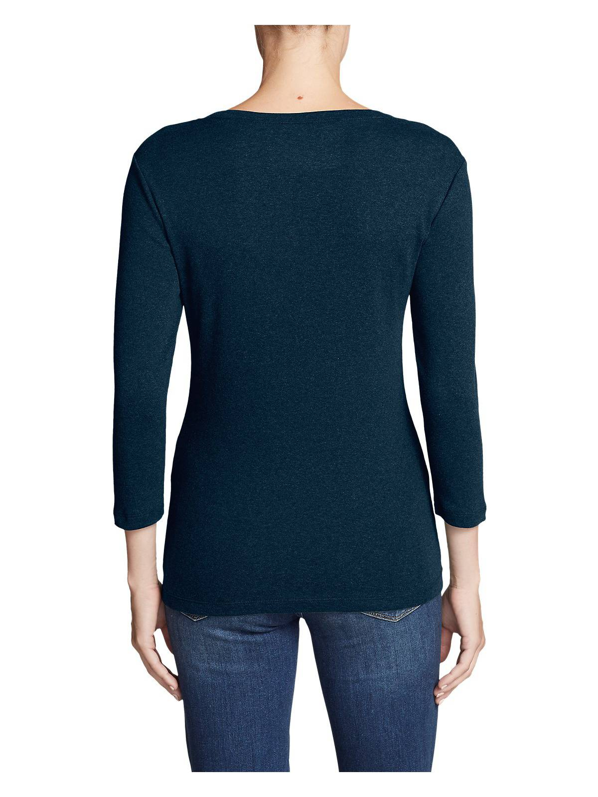 Eddie-Bauer-Women-039-s-Favorite-3-4-Sleeve-Scoop-Neck-T-Shirt thumbnail 18